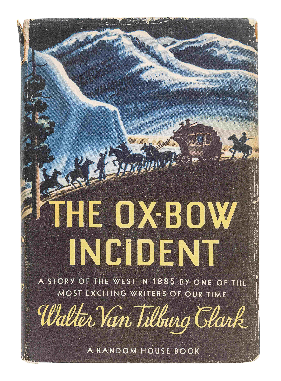 CLARK, Walter Van Tilburg (1909-1979). The Ox-Bow Incident. New York: Random House, 1940. - Image 2 of 3