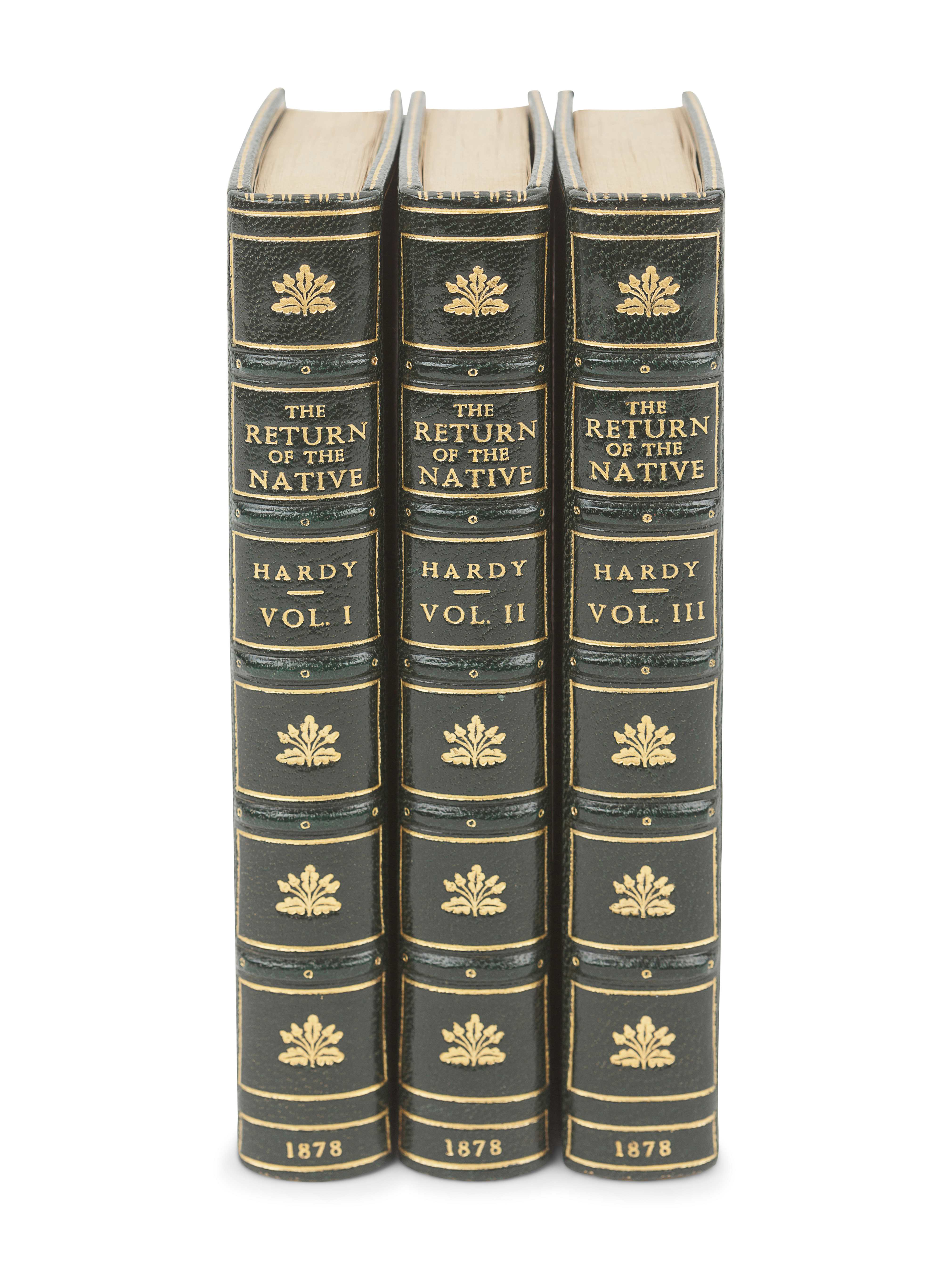 HARDY, Thomas (1840-1928). The Return of the Native. London: Smith, Elder, & Co., 1878. - Image 2 of 3