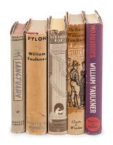 FAULKNER, William (1897-1962). A group of FIRST ENGLISH EDITIONS or later American printings of Faul