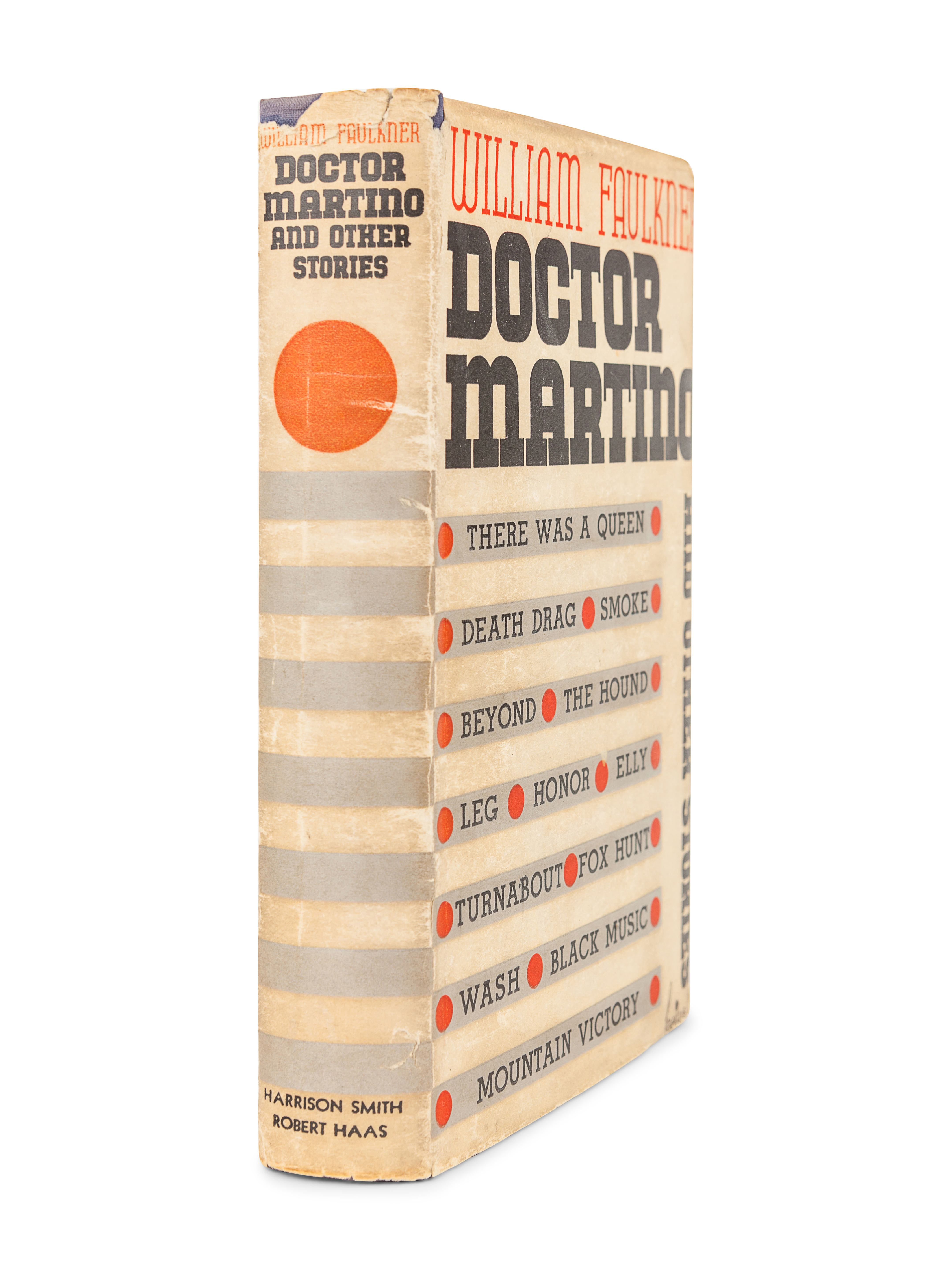 FAULKNER, William. Doctor Martino and other stories. New York: Harrison Smith & Robert Haas, 1934. - Image 3 of 3