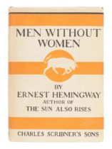 HEMINGWAY, Ernest (1899-1961). Men Without Women. New York: Scribner's, 1927.