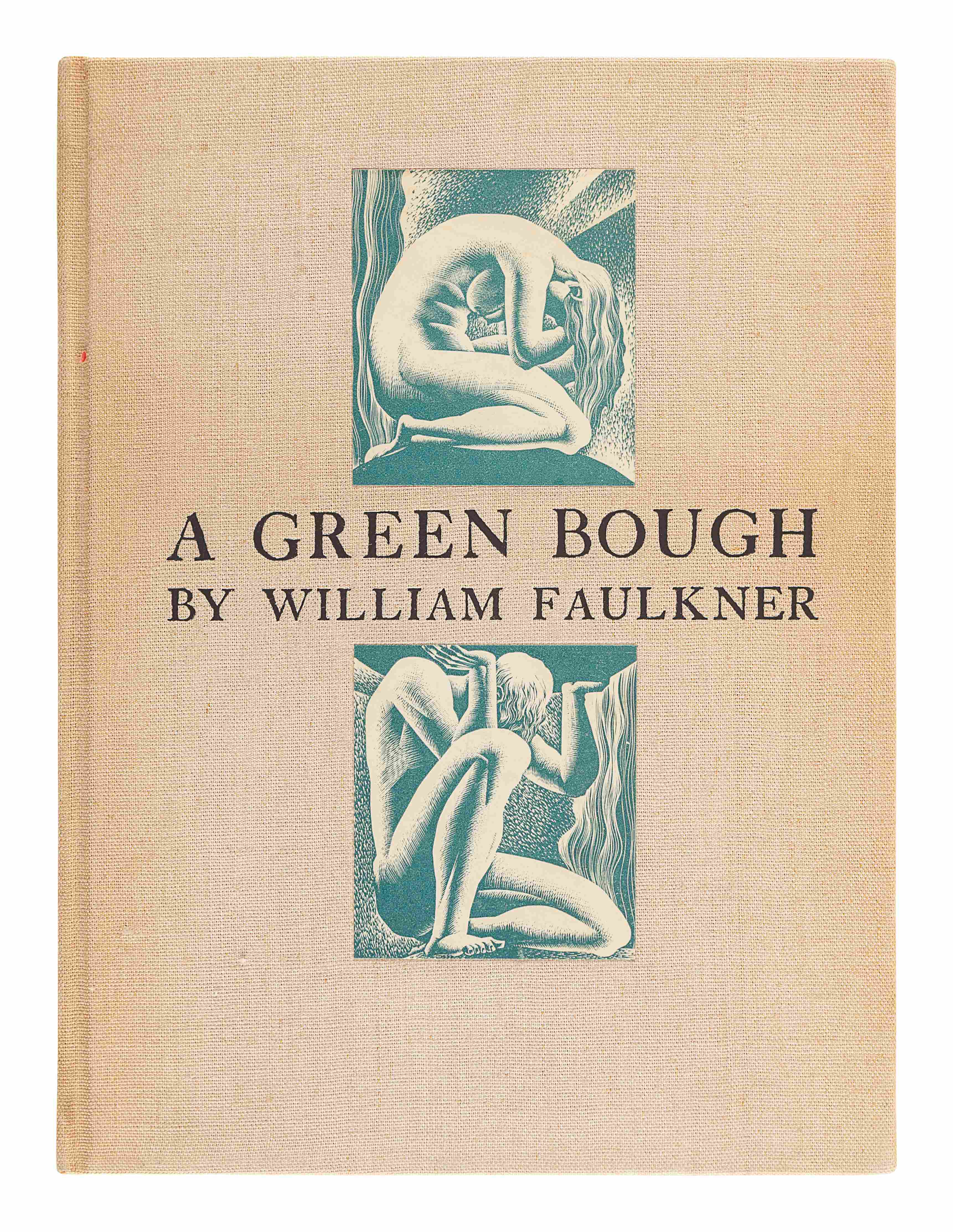 FAULKNER, William. A Green Bough. New York: Harrison Smith and Robert Haas, 1933. - Image 3 of 3