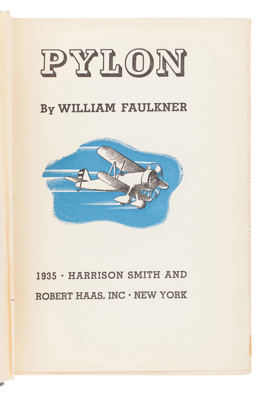 FAULKNER, William (1897-1962). Pylon. New York: Harrison Smith and Robert Haas, 1935. - Image 2 of 3