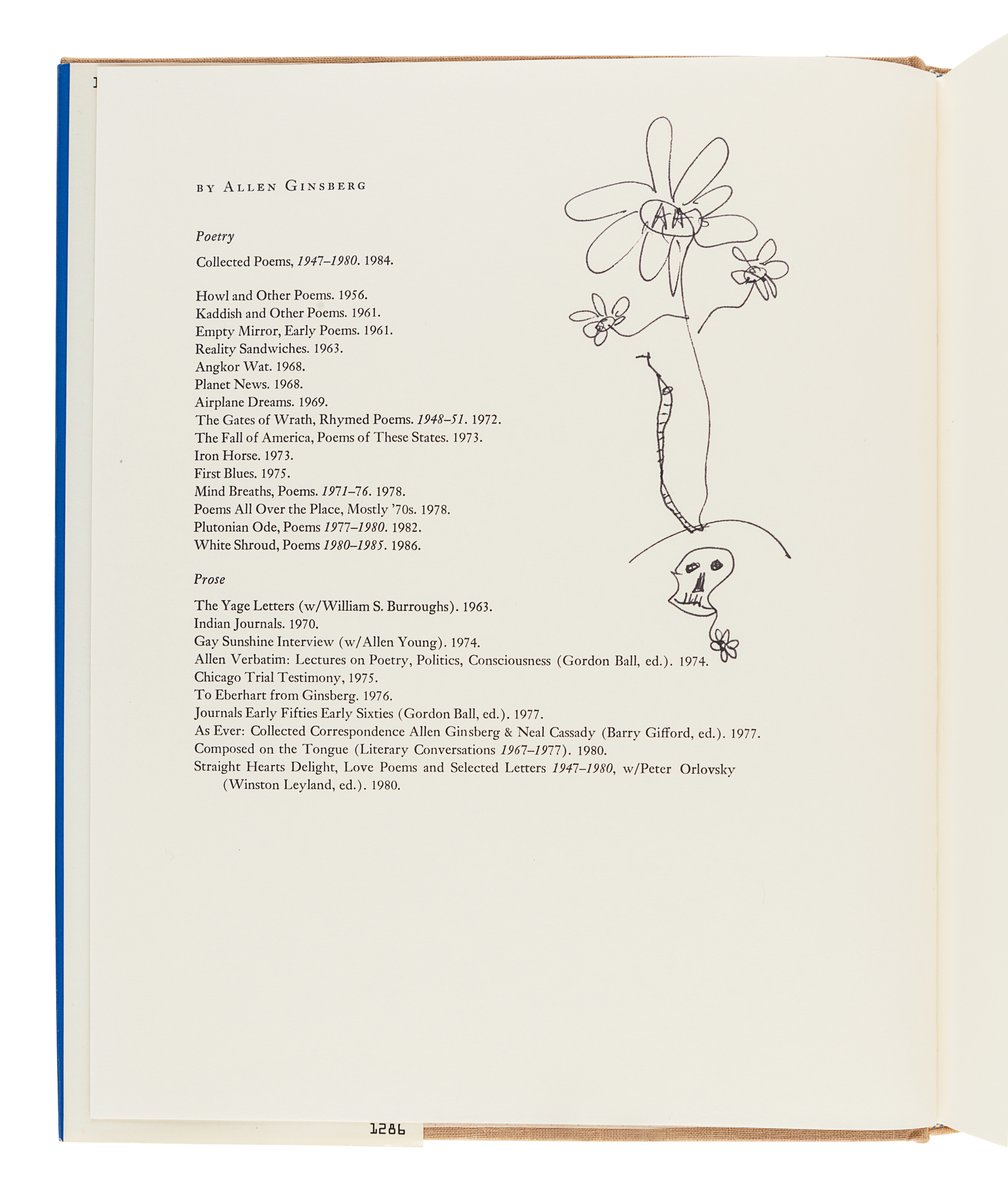 [GINSBERG, Allen (1926-1997)]. A group of 3 FIRST EDITIONS, comprising: - Image 4 of 6