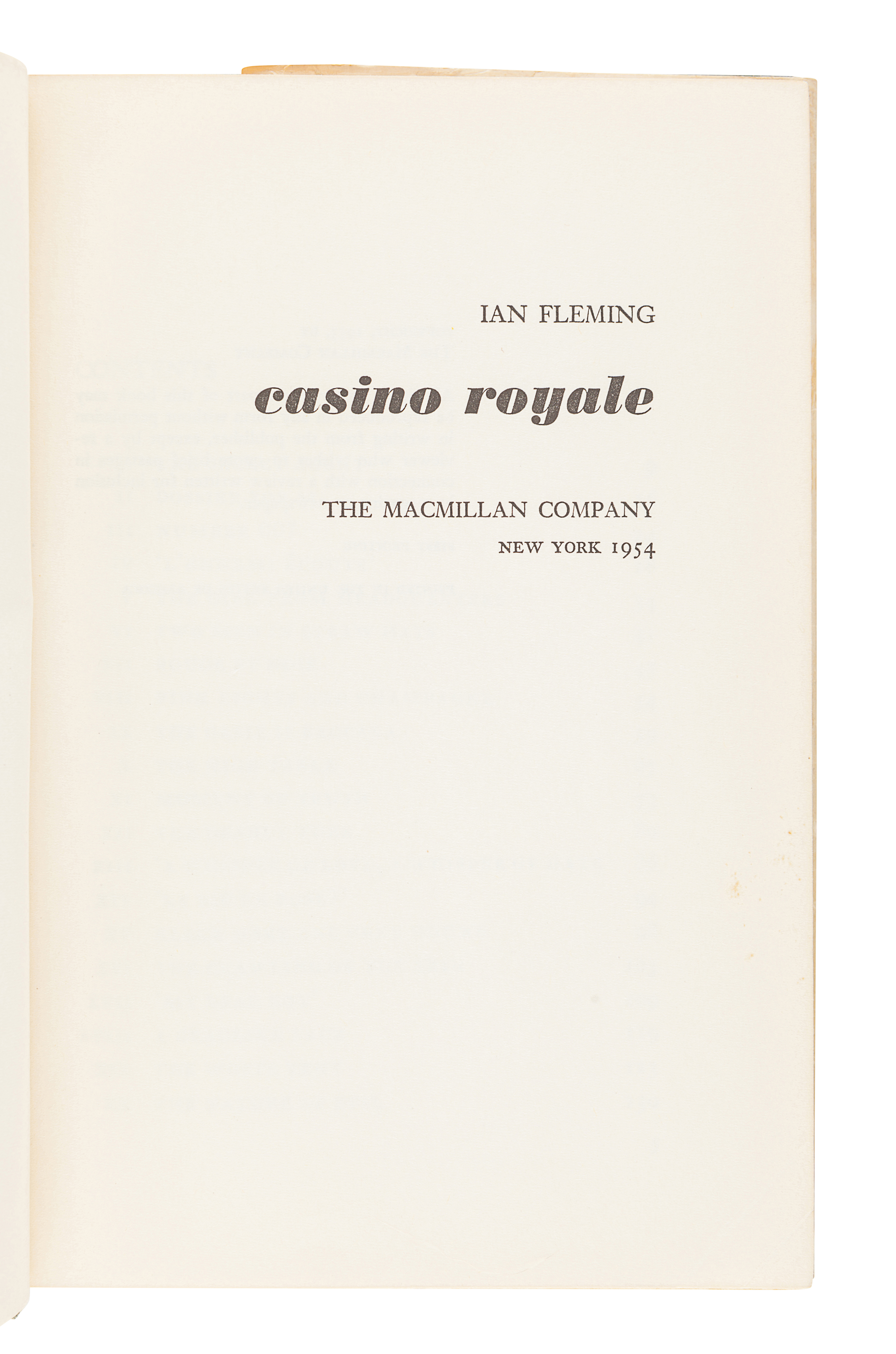 [FLEMING, Ian] -- [US EDITIONS AND PIRACIES]. A group of 5 works, comprising: - Image 4 of 14