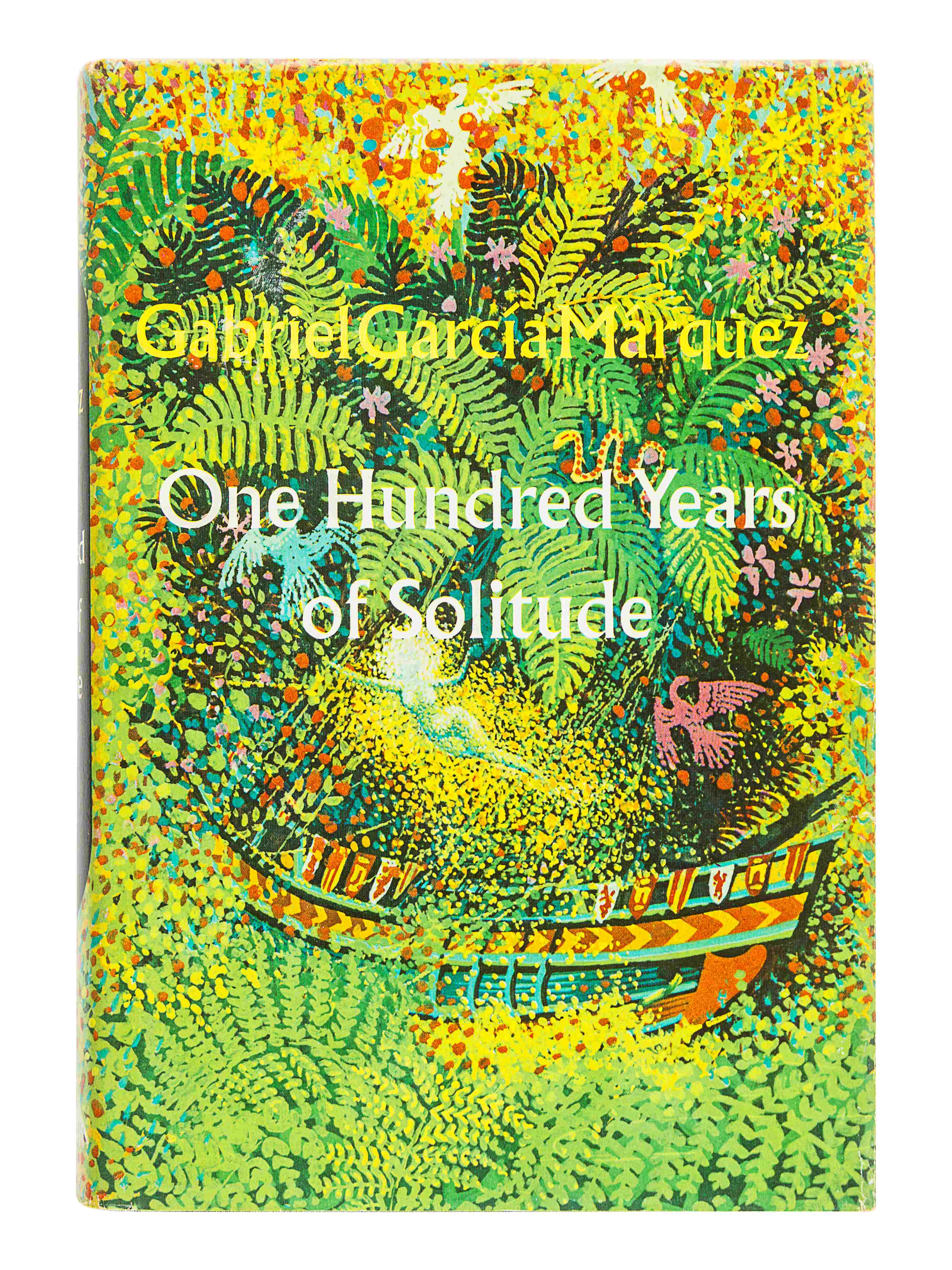 GARCIA MARQUEZ, Gabriel (1927-2014). One Hundred Years of Solitude. Gregory Rabassa, translator. New