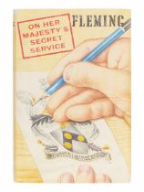 FLEMING, Ian (1908-1964). On Her Majesty's Secret Service. London: Jonathan Cape, 1963.