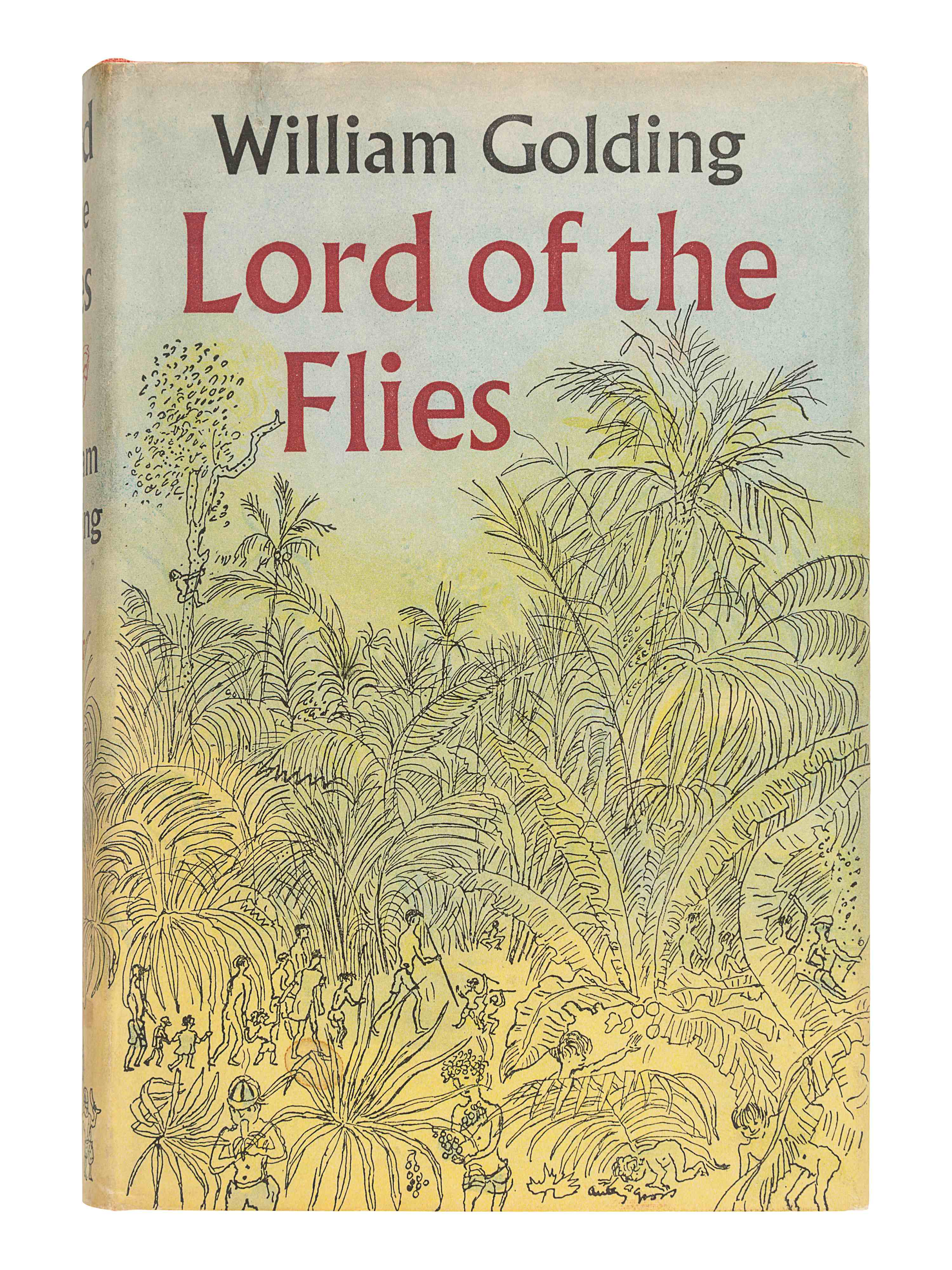 GOLDING, William (1911-1993). Lord of the Flies. London: Faber and Faber, 1954. - Image 2 of 3