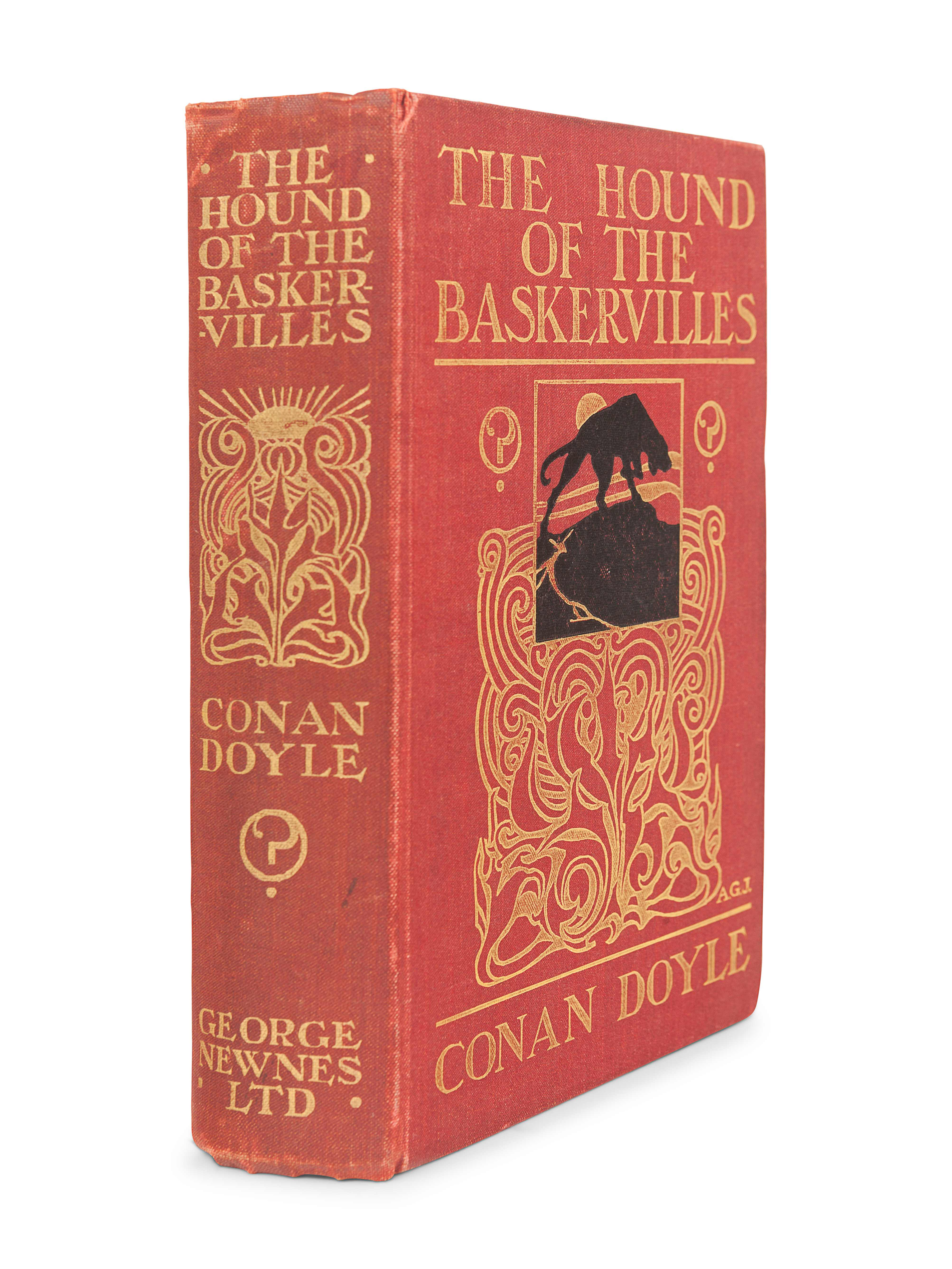 DOYLE, Arthur Conan (1859-1930). The Hound of the Baskervilles. London: George Newnes, Limited, 1902 - Image 2 of 3