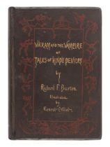 BURTON, Richard Francis, Sir (1821-1890). Vikram and the Vampire or Tales of Hindu Devilry. London: