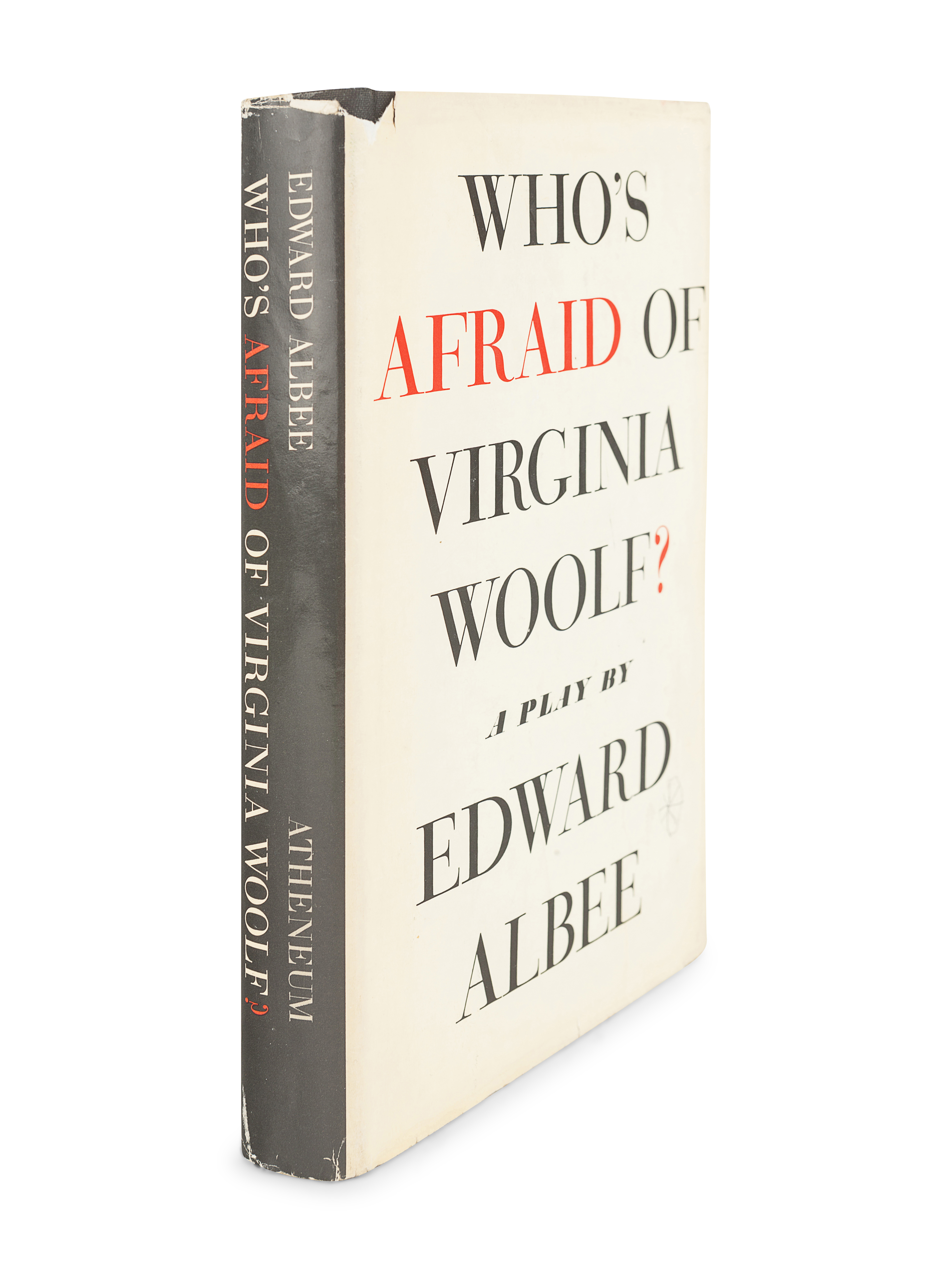 ALBEE, Edward (1928-2016). Who's Afraid of Virginia Woolf? New York: Atheneum, 1962. - Image 3 of 3