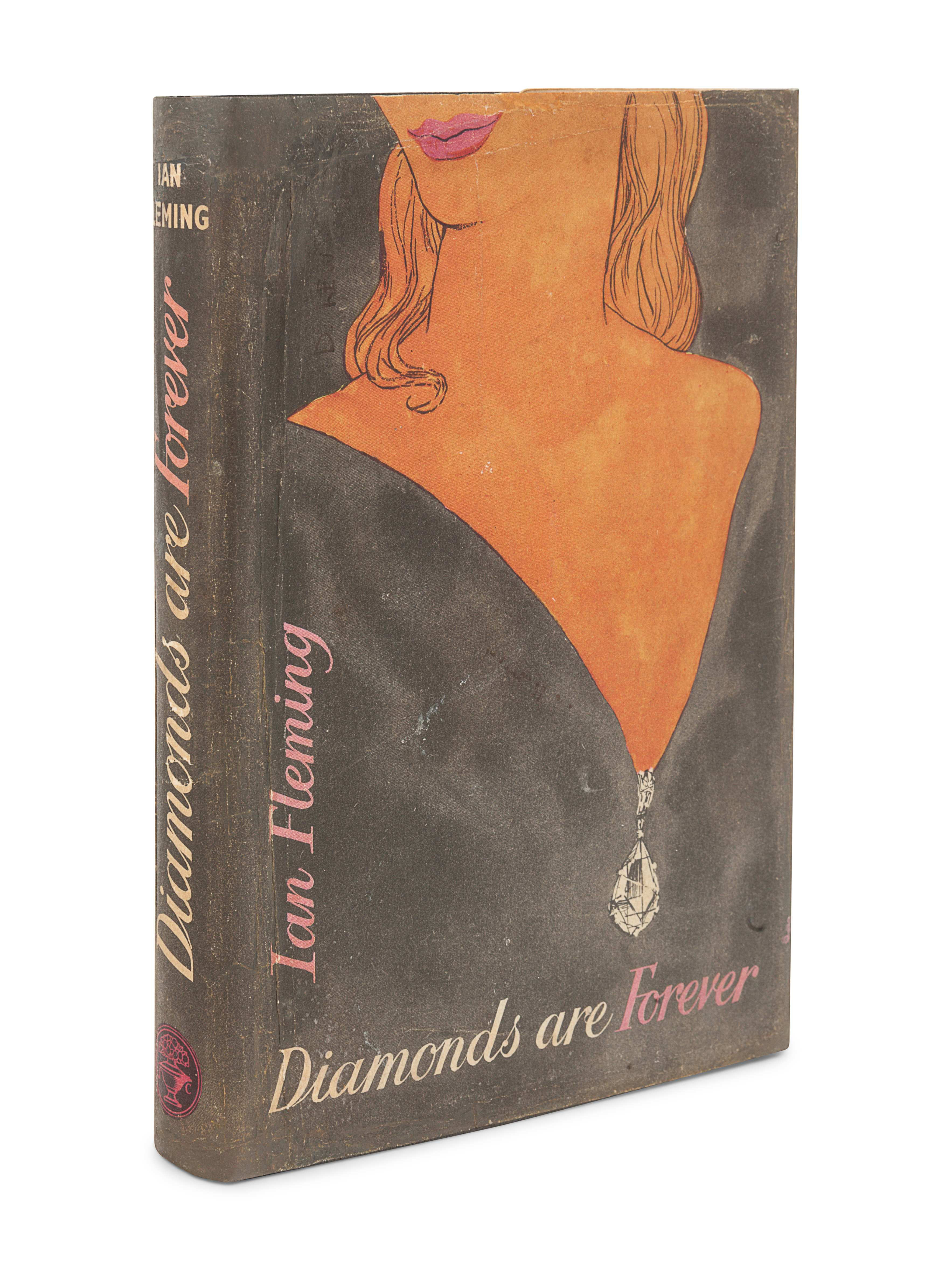 FLEMING, Ian (1908-1964). Diamonds Are Forever. London: Jonathan Cape, 1956. - Image 2 of 3