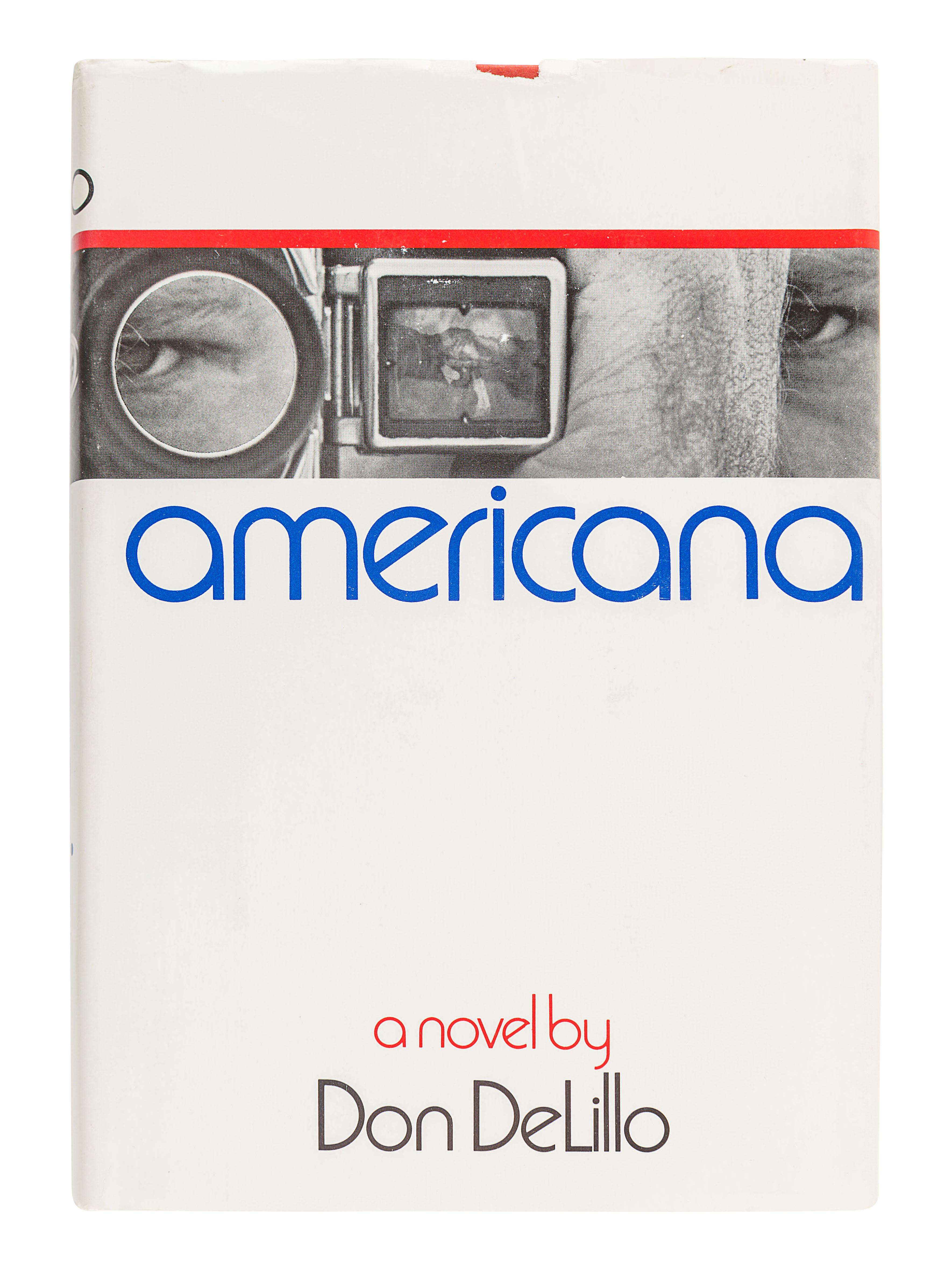 DELILLO, Don (b. 1936). Americana. Boston: Houghton Mifflin Company, 1971.