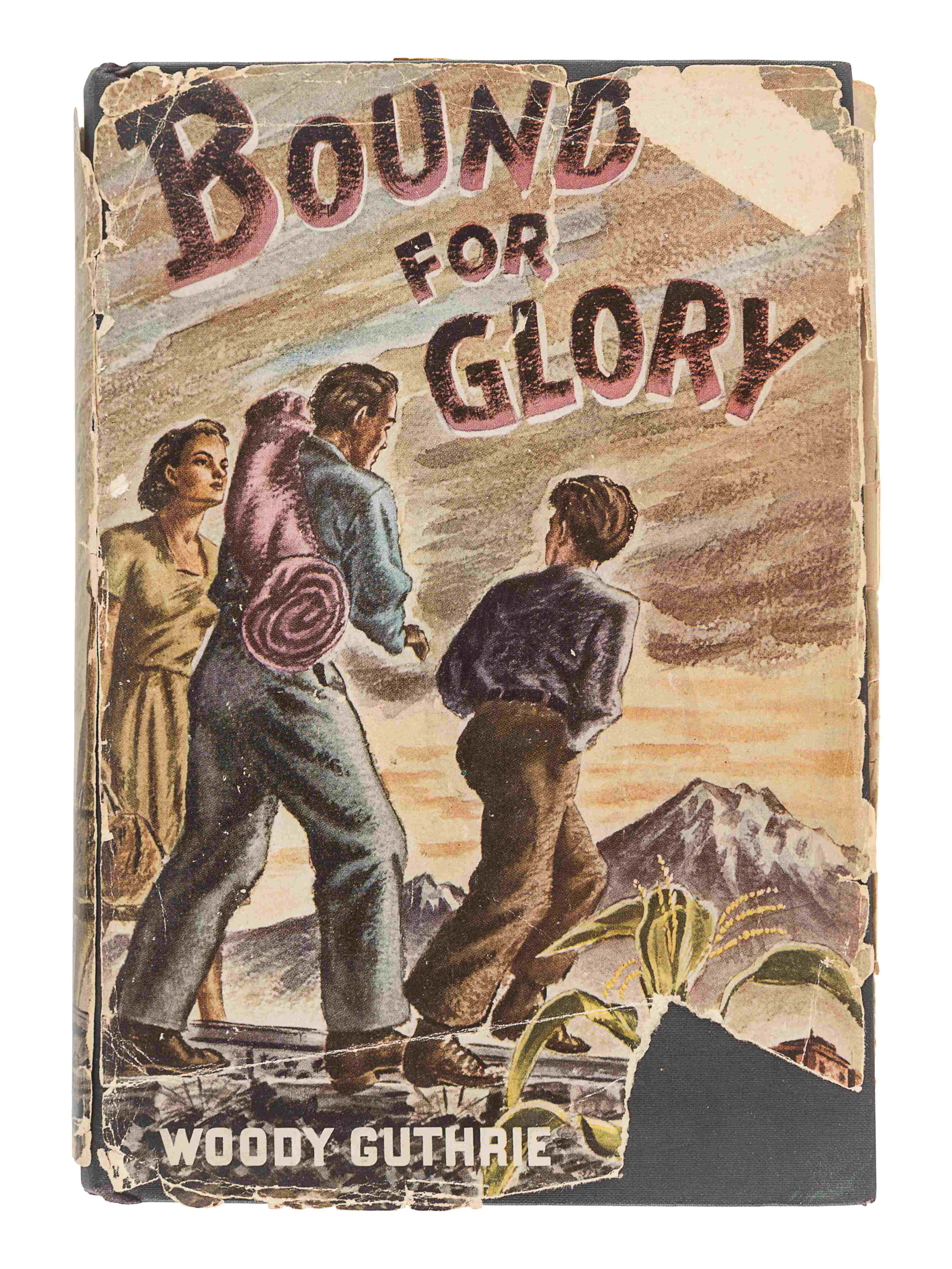 GUTHRIE, Woody (1912-1967). Bound For Glory. New York: E.P. Dutton & Co., 1943. - Image 2 of 3