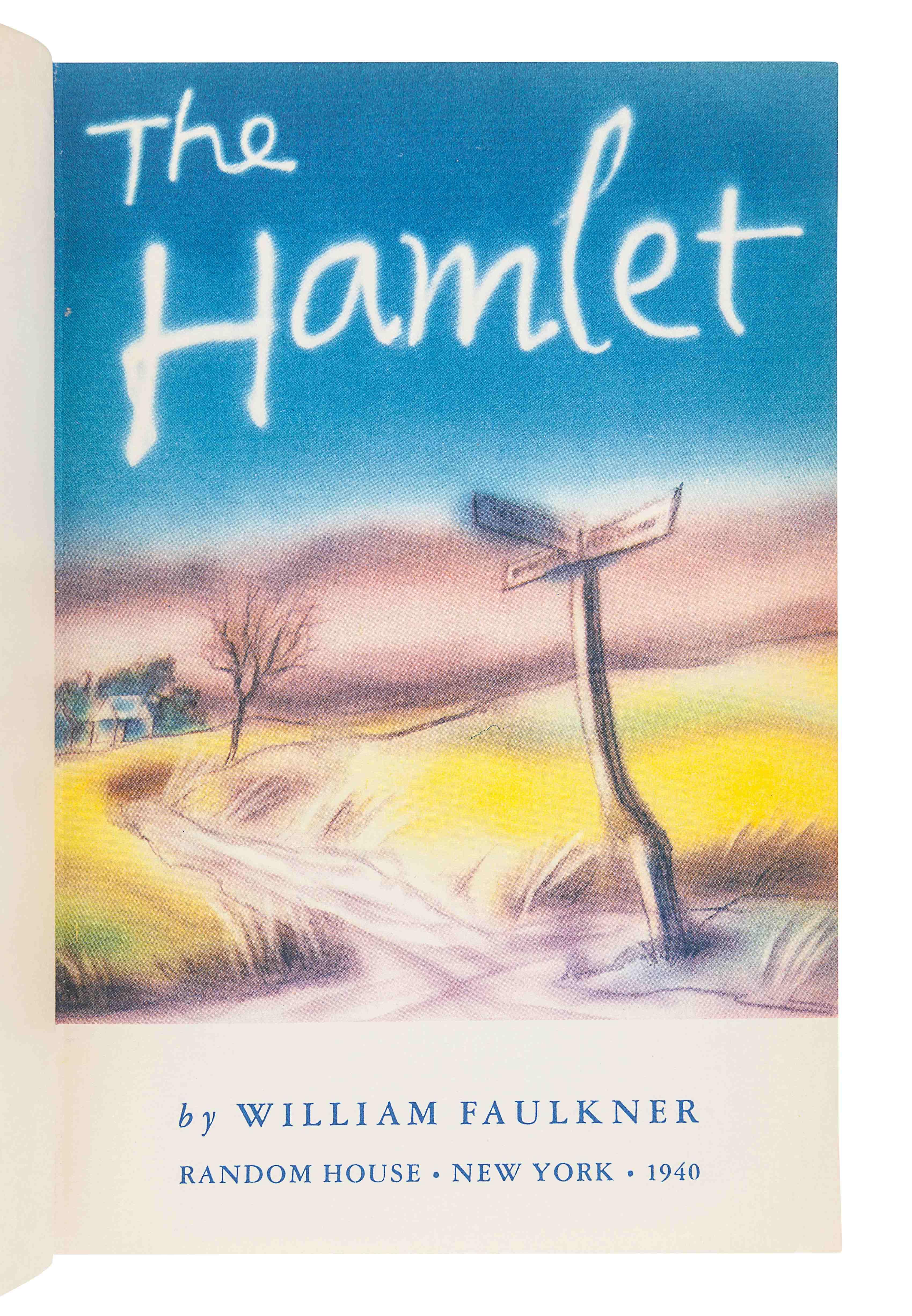 FAULKNER, William (1897-1962). The Hamlet. New York: Random House, 1940. - Image 3 of 3