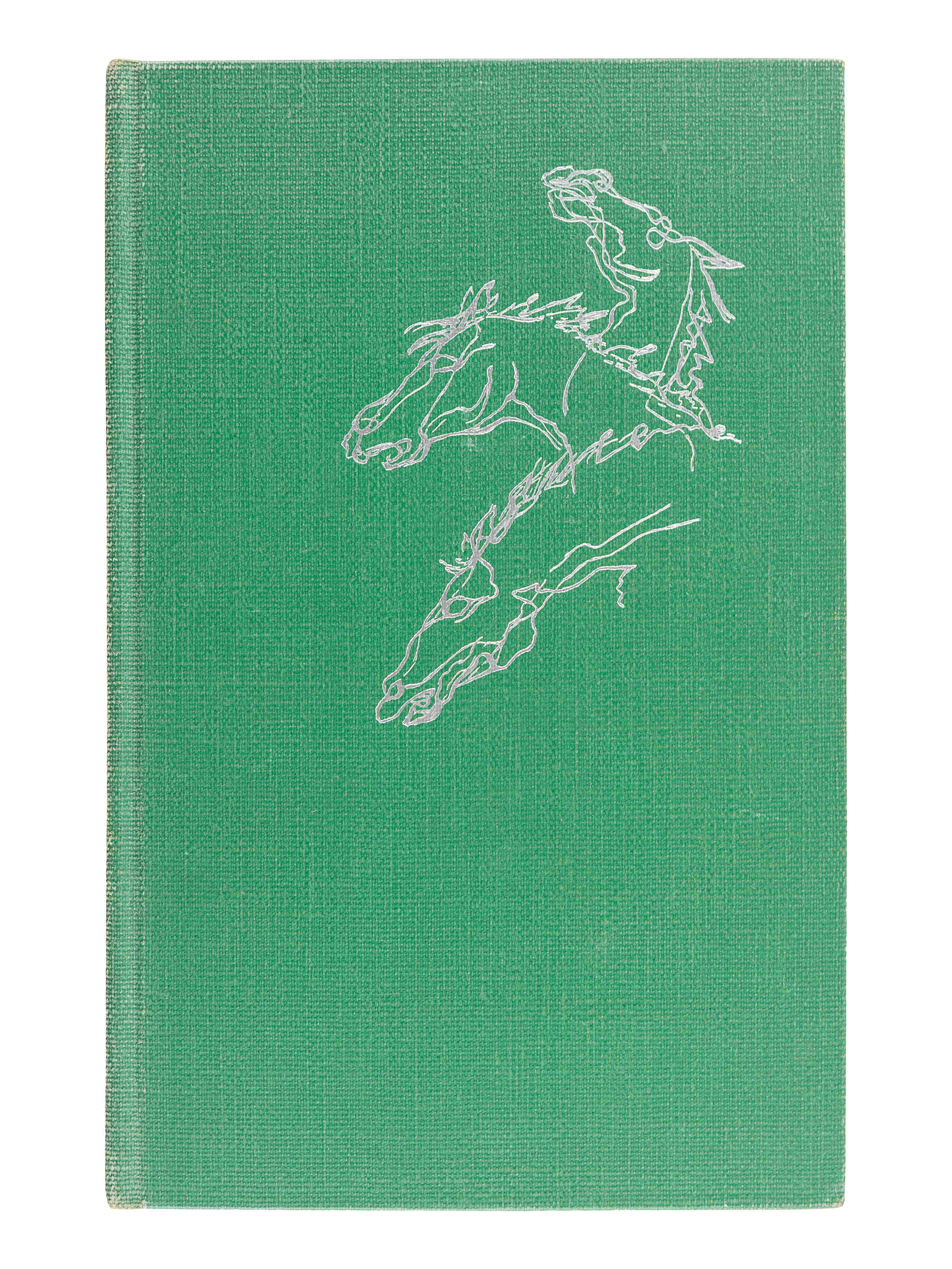 FAULKNER, William (1897-1962). Notes on a Horse Thief. Greenville, MS: The Levee Press, 1950. - Image 2 of 5