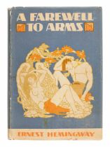 HEMINGWAY, Ernest (1899-1961). A Farewell To Arms. New York: Charles Scribner's Sons, 1929.