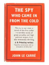 LE CARRE, John (1931-2020). The Spy Who Came In From the Cold. London: Victor Gollancz Ltd., 1963.