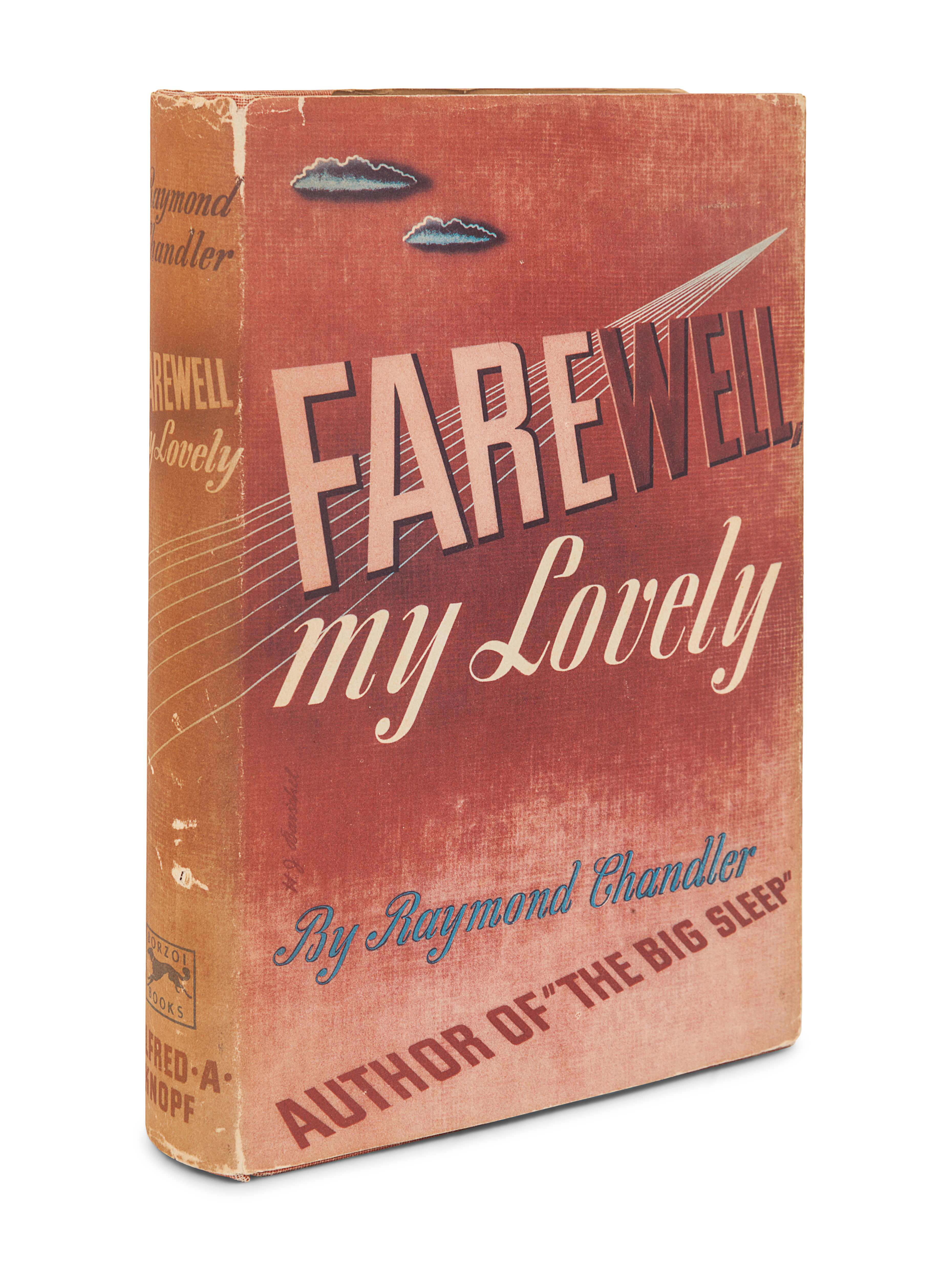 CHANDLER, Raymond (1888-1959). Farewell, My Lovely. New York: Alfred A. Knopf, 1940. - Image 2 of 3
