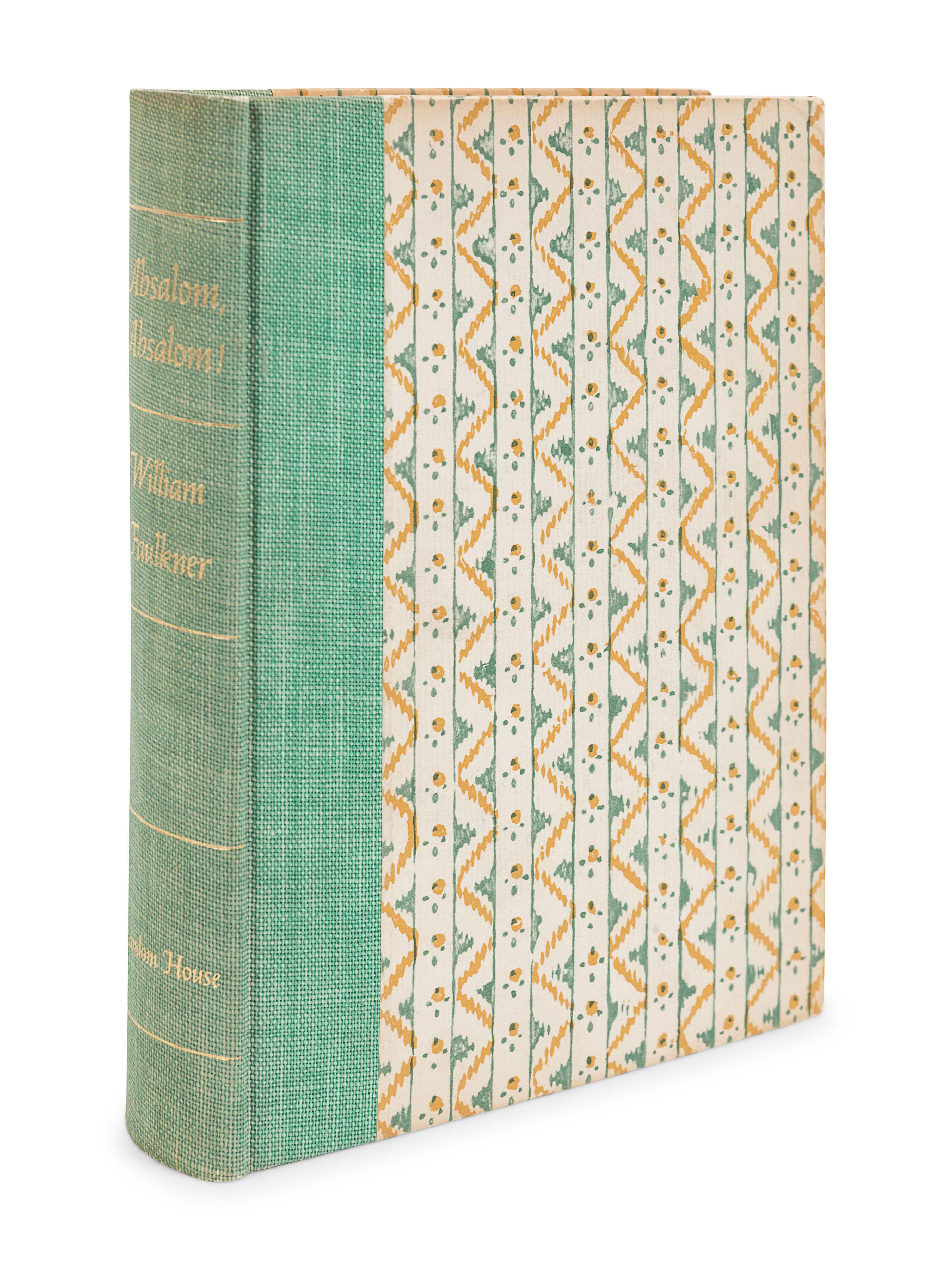 FAULKNER, William (1897-1962). Absalom, Absalom! New York: Random House, 1936. - Image 2 of 3