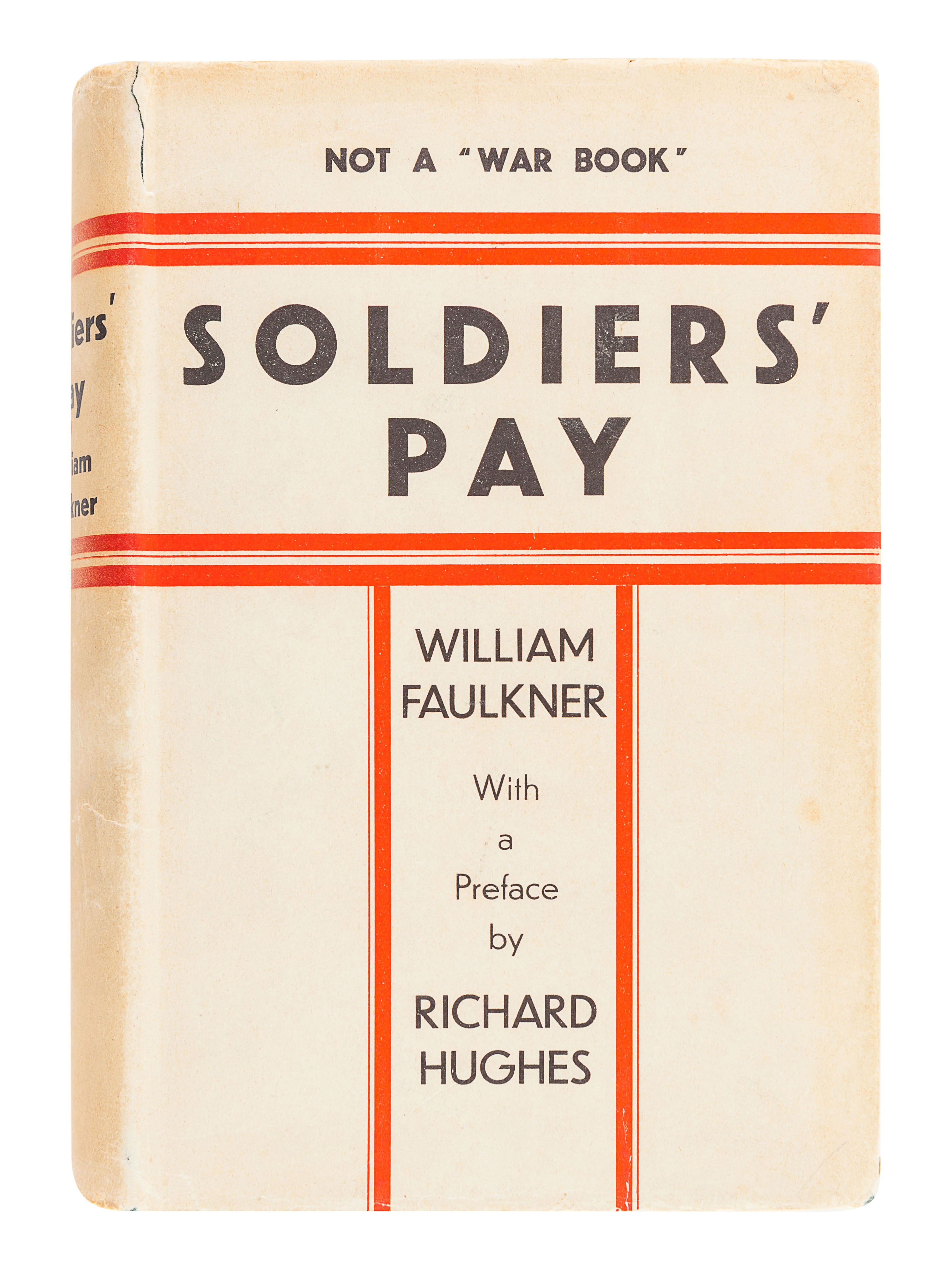 FAULKNER, William (1897-1962). Soldiers' Pay. New York: Boni & Liveright, 1926.