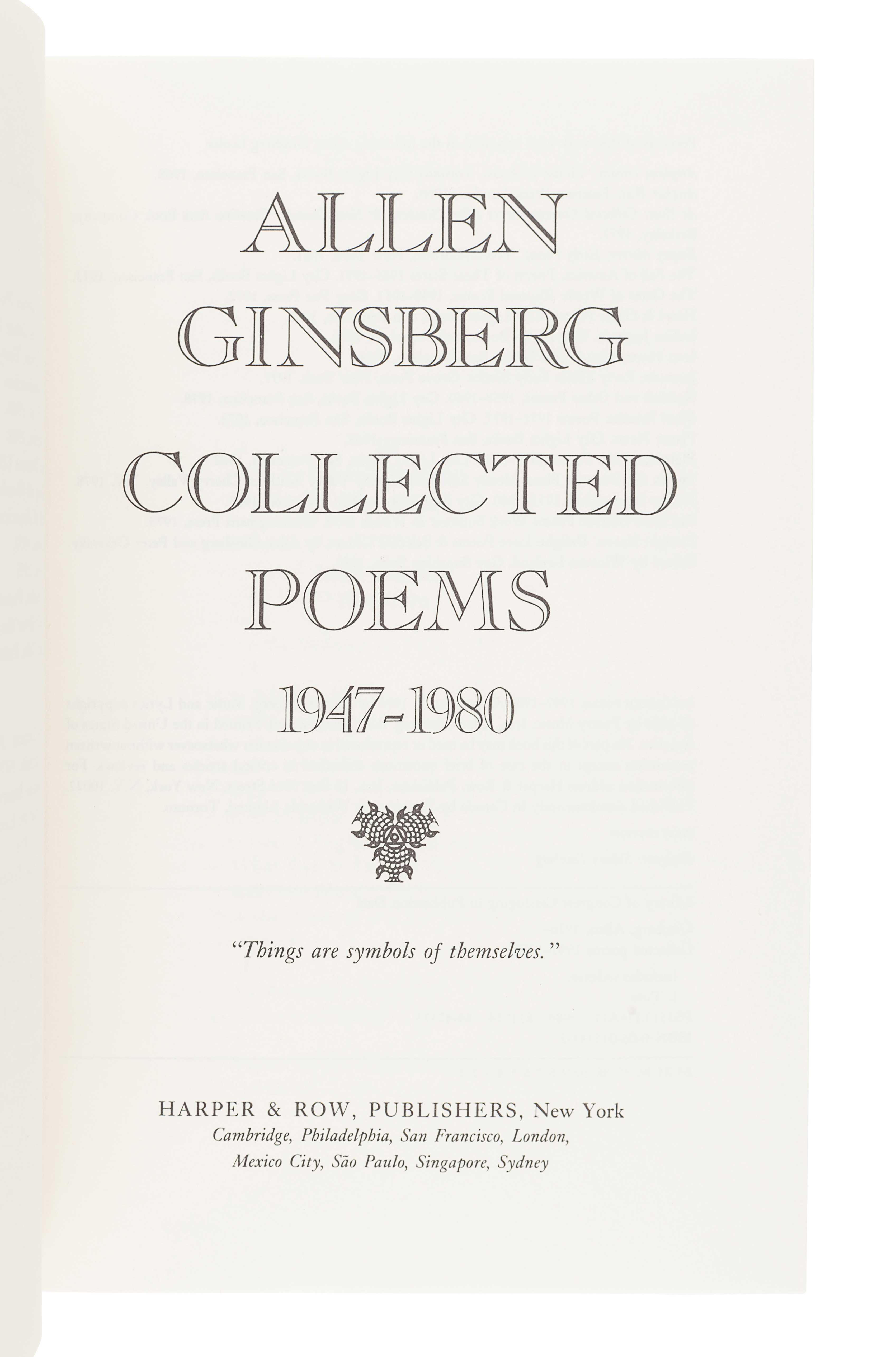 [GINSBERG, Allen (1926-1997)]. A group of 3 FIRST EDITIONS, comprising: - Image 5 of 6