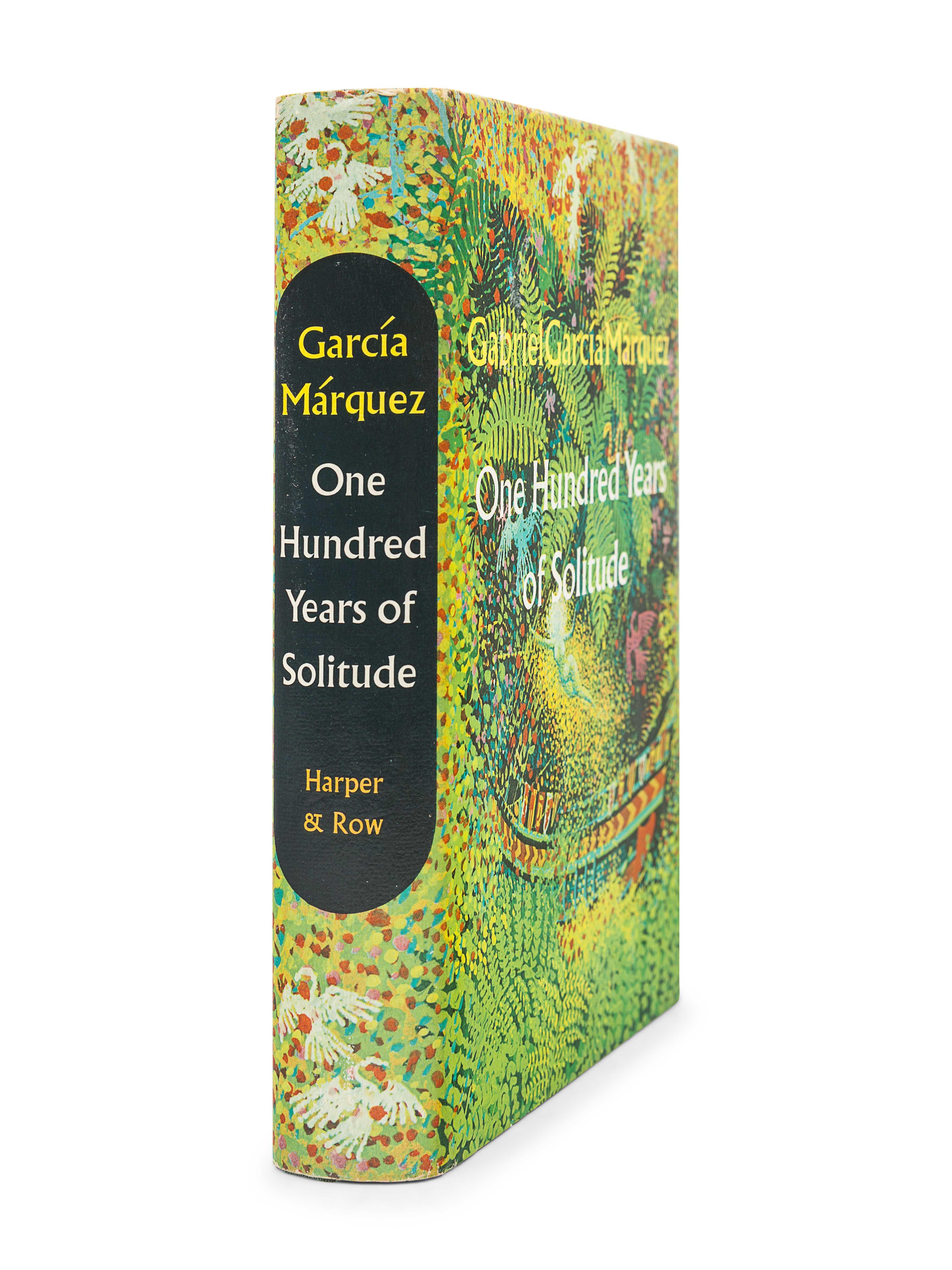 GARCIA MARQUEZ, Gabriel (1927-2014). One Hundred Years of Solitude. Gregory Rabassa, translator. New - Image 3 of 3