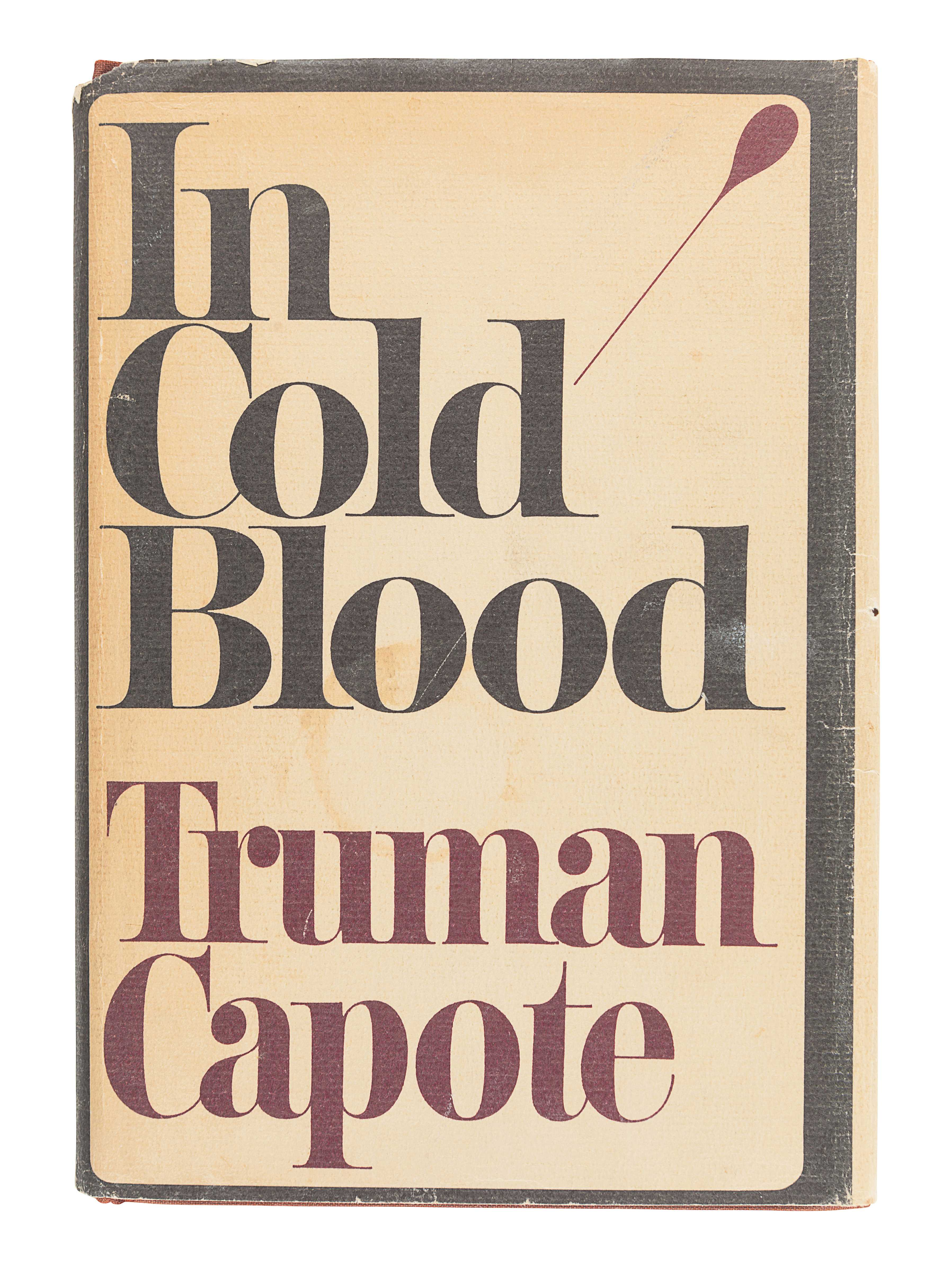CAPOTE, Truman (1924-1984). In Cold Blood. New York: Random House, 1965. - Image 2 of 3