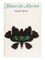 KEYES, Daniel (1927-2014). Flowers for Algernon. New York: Harcourt Brace & World, Inc., 1966.