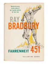 BRADBURY, Ray (1920-2012).Fahrenheit 451. New York: Ballantine Books, Inc., 1953.