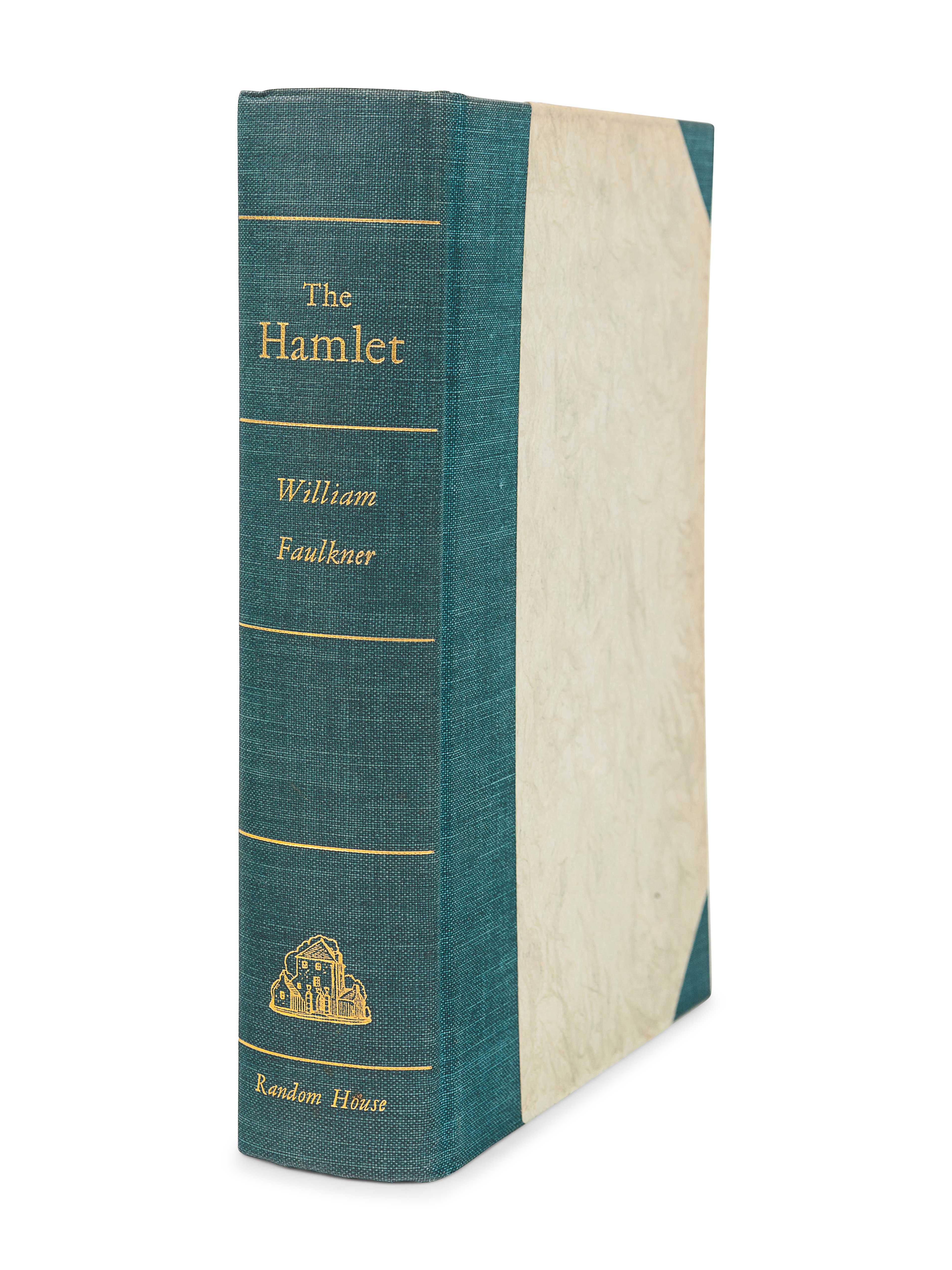 FAULKNER, William (1897-1962). The Hamlet. New York: Random House, 1940. - Image 2 of 3