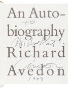 AVEDON, Richard (1923-2004). An Autobiography. New York: Random House, 1993.