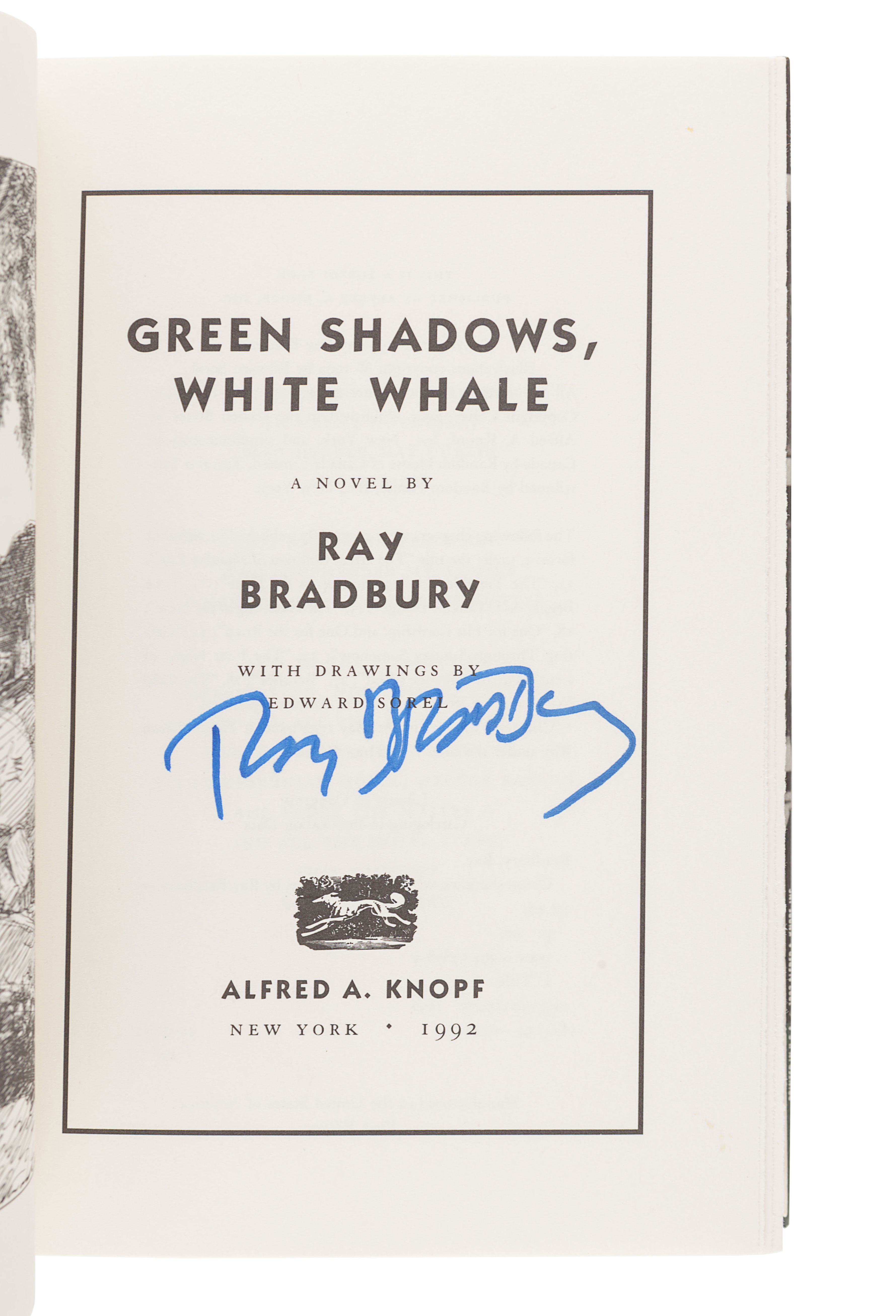 [BRADBURY, Ray (1920-2012)]. A group of 5 works SIGNED OR INSCRIBED by Bradbury, comprising: - Image 11 of 11