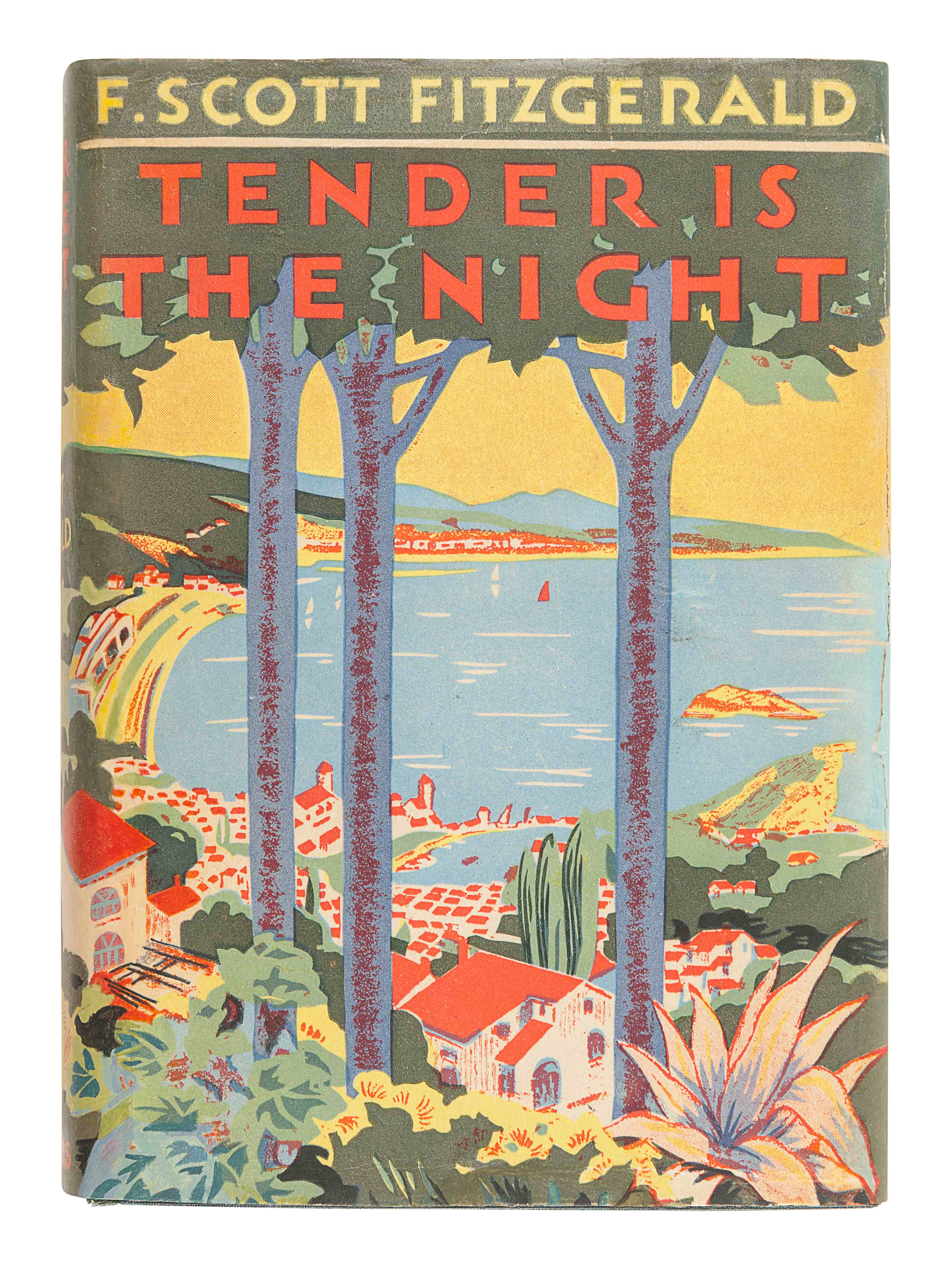 FITZGERALD, F. Scott (1896-1940). Tender is the Night. New York: Charles Scribner's Sons, 1934. - Image 2 of 3