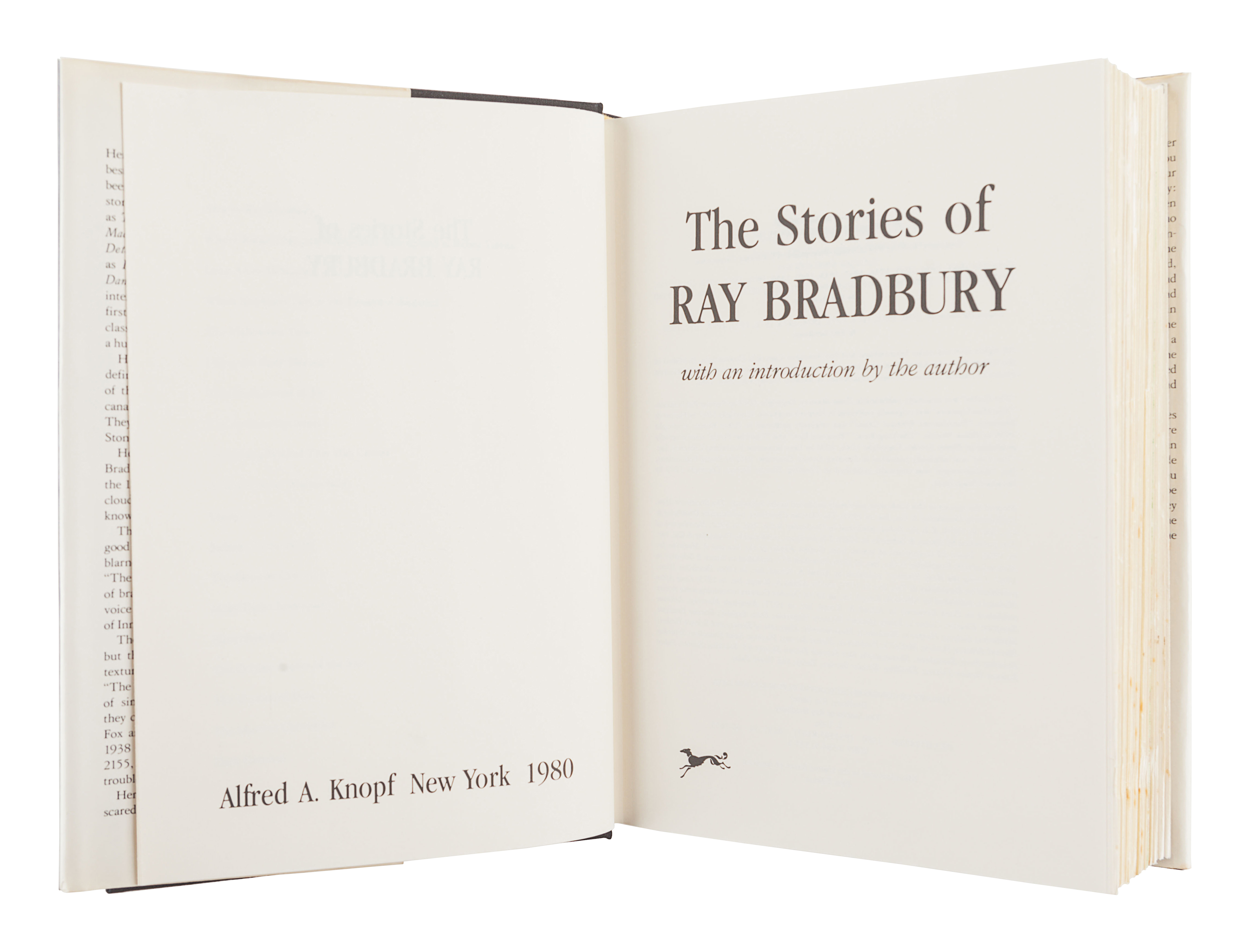 [BRADBURY, Ray (1920-2012)]. A group of 5 works SIGNED OR INSCRIBED by Bradbury, comprising: - Image 8 of 11