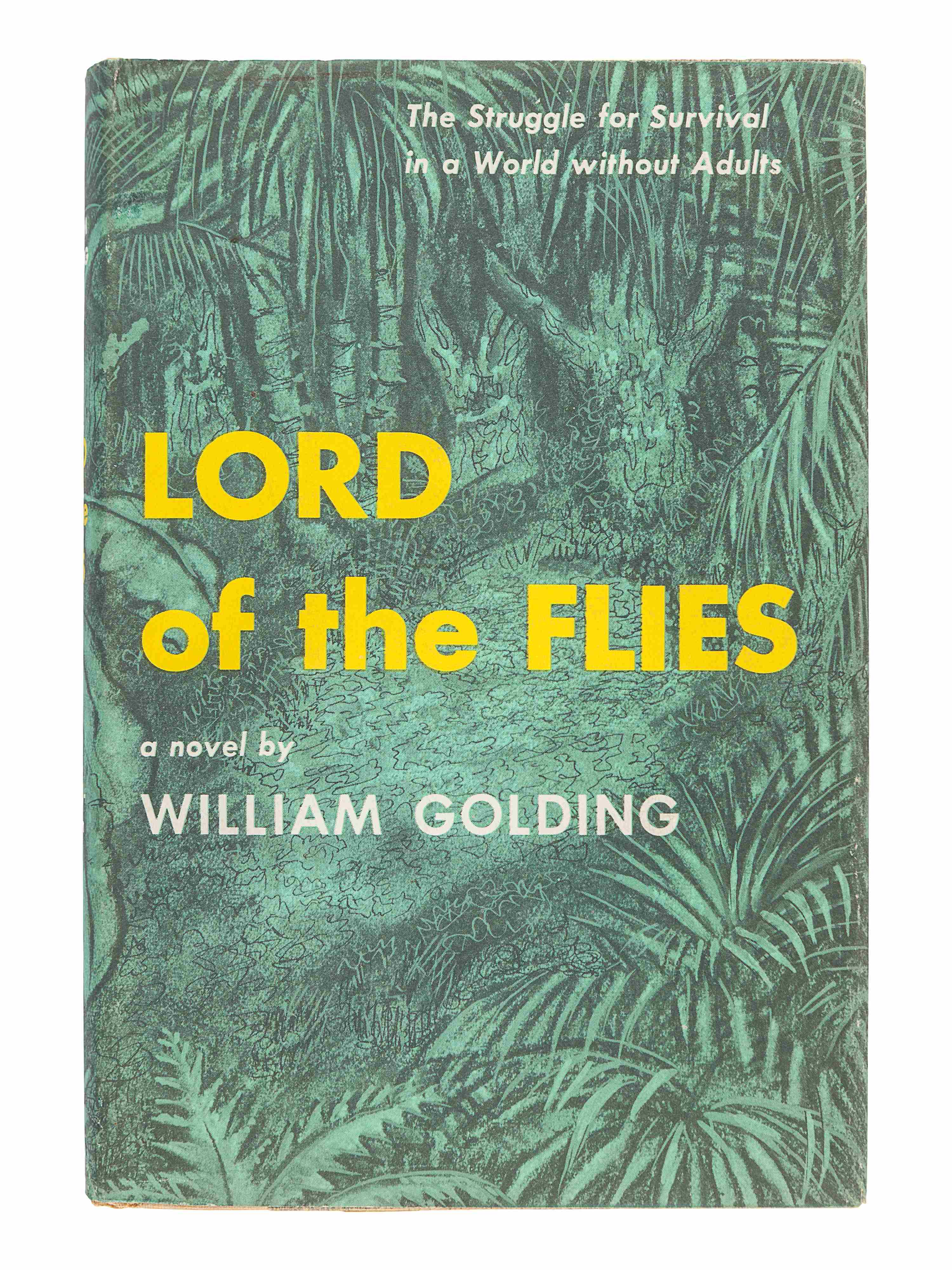 GOLDING, William (1911-1993). Lord of the Flies. New York: Coward-McCann, Inc., 1955. - Image 2 of 3