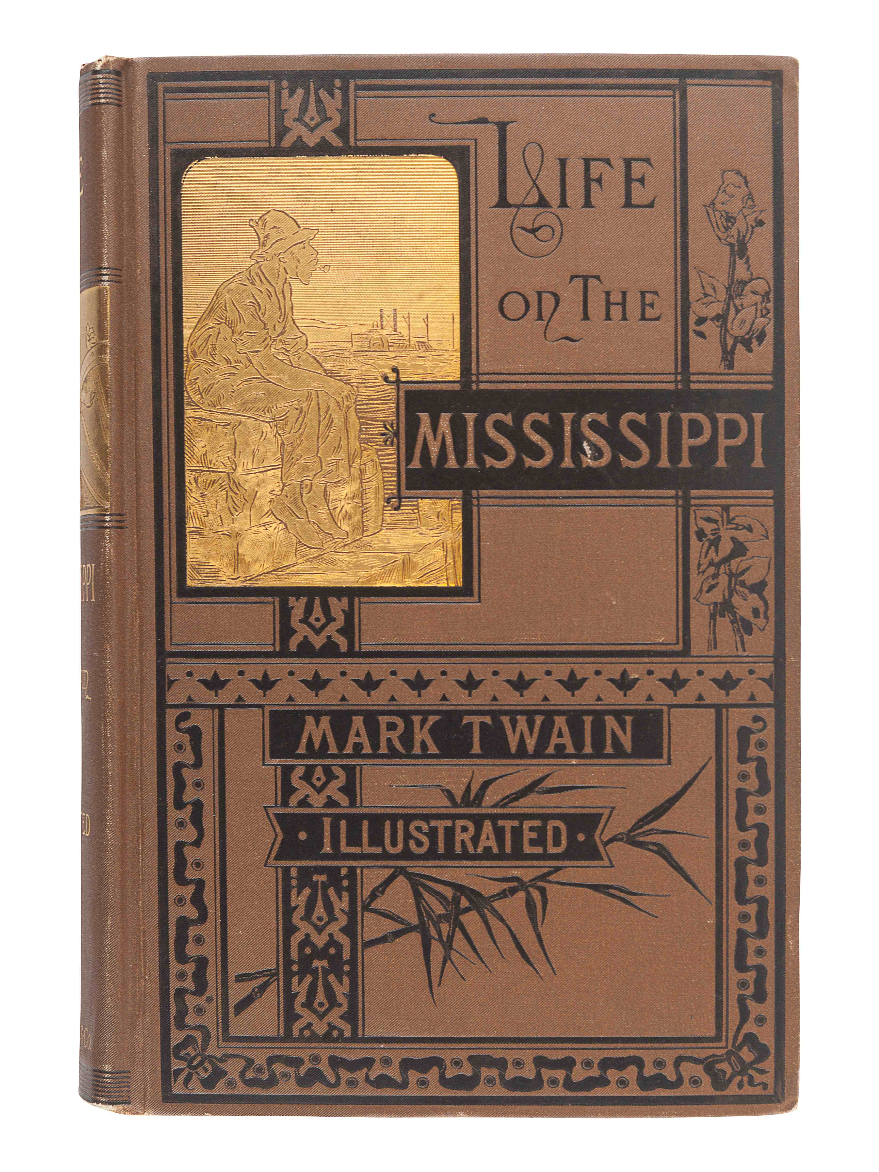 "CLEMENS, Samuel (""Mark Twain"") (1835-1910). Life on the Mississippi. Boston: James R. Osgood and Com"