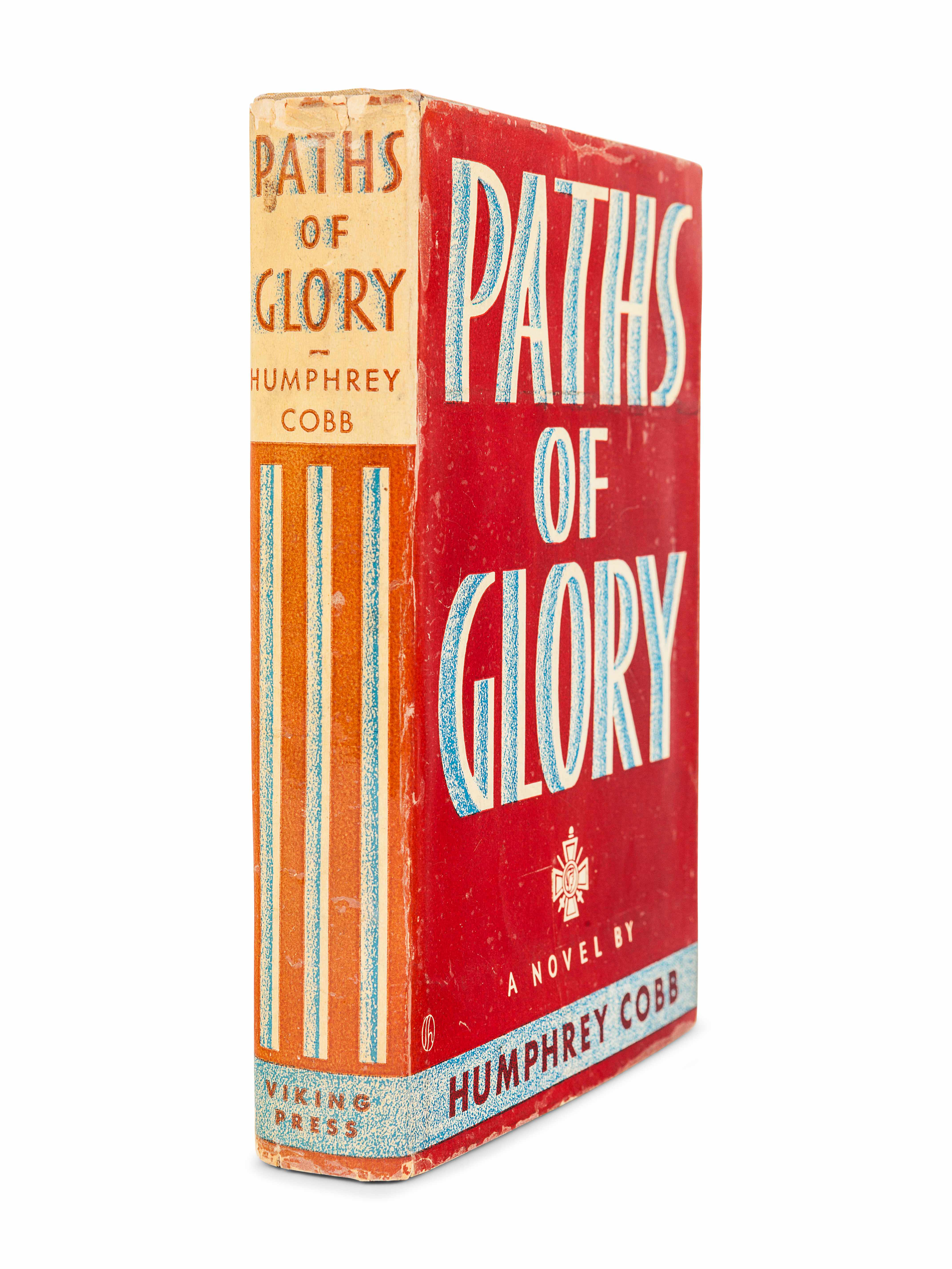 COBB, Humphrey (1899-1944). Paths of Glory. New York: The Viking Press, 1935. - Image 2 of 2