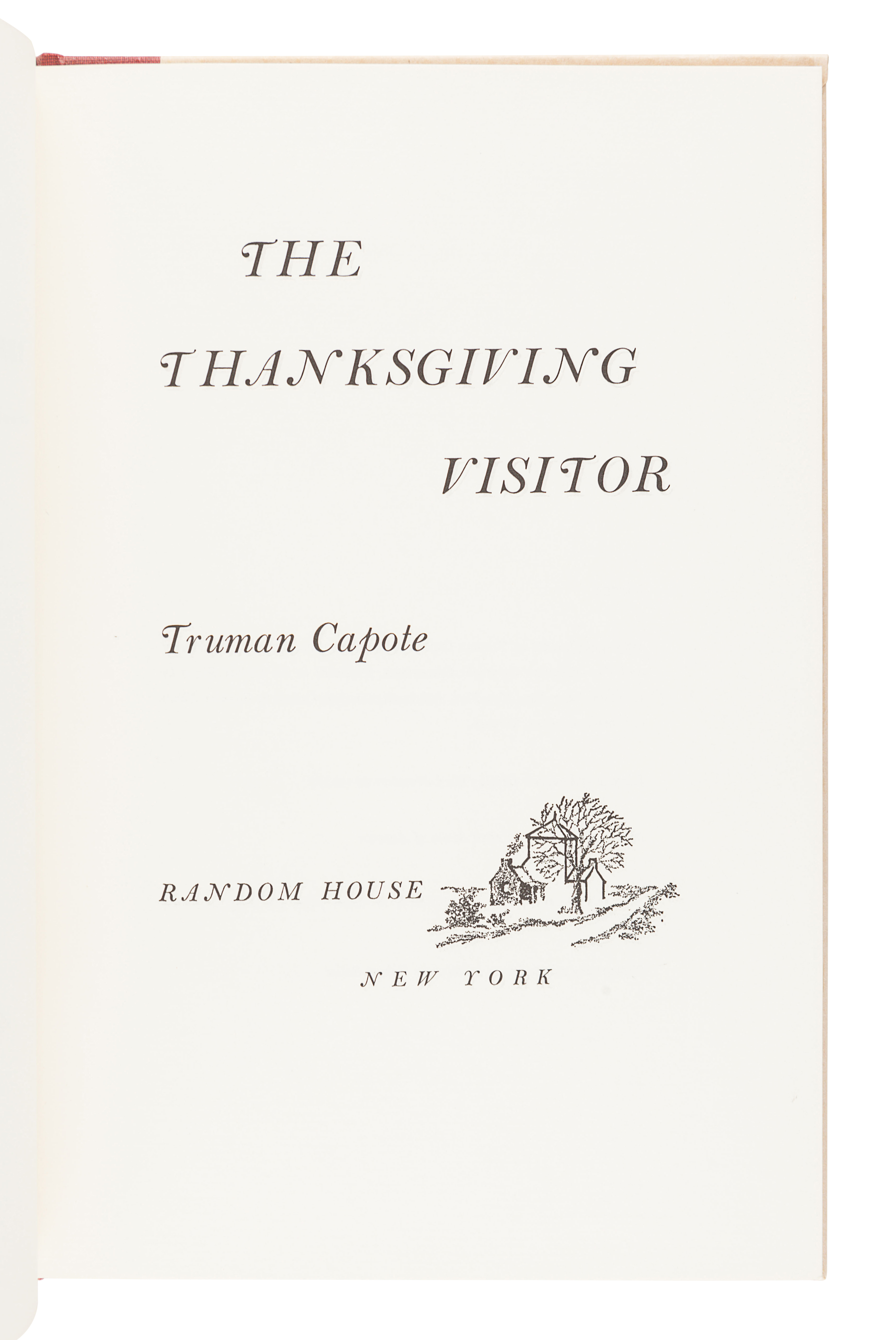 [CAPOTE, Truman (1924-1984)]. A group of 3 FIRST EDITIONS, SIGNED BY CAPOTE, comprising: - Image 3 of 4