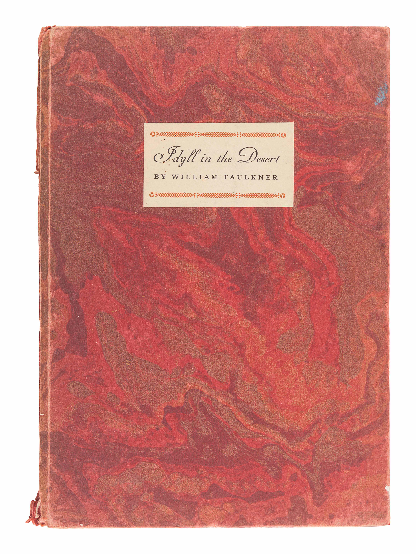 FAULKNER, William (1897-1962). Idyll in the Desert. New York: Random House, 1931. - Image 2 of 2