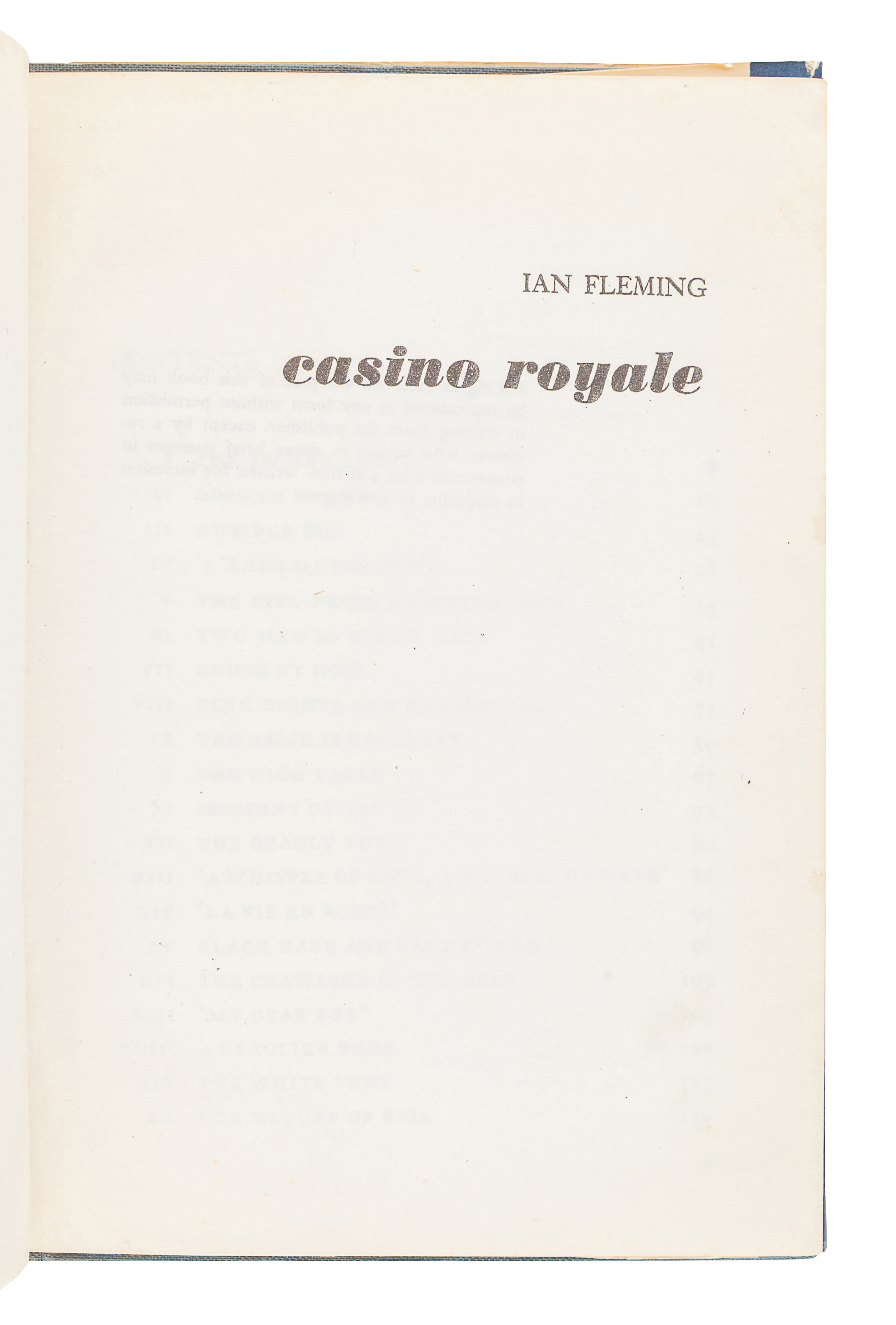 [FLEMING, Ian] -- [US EDITIONS AND PIRACIES]. A group of 5 works, comprising: - Image 5 of 14