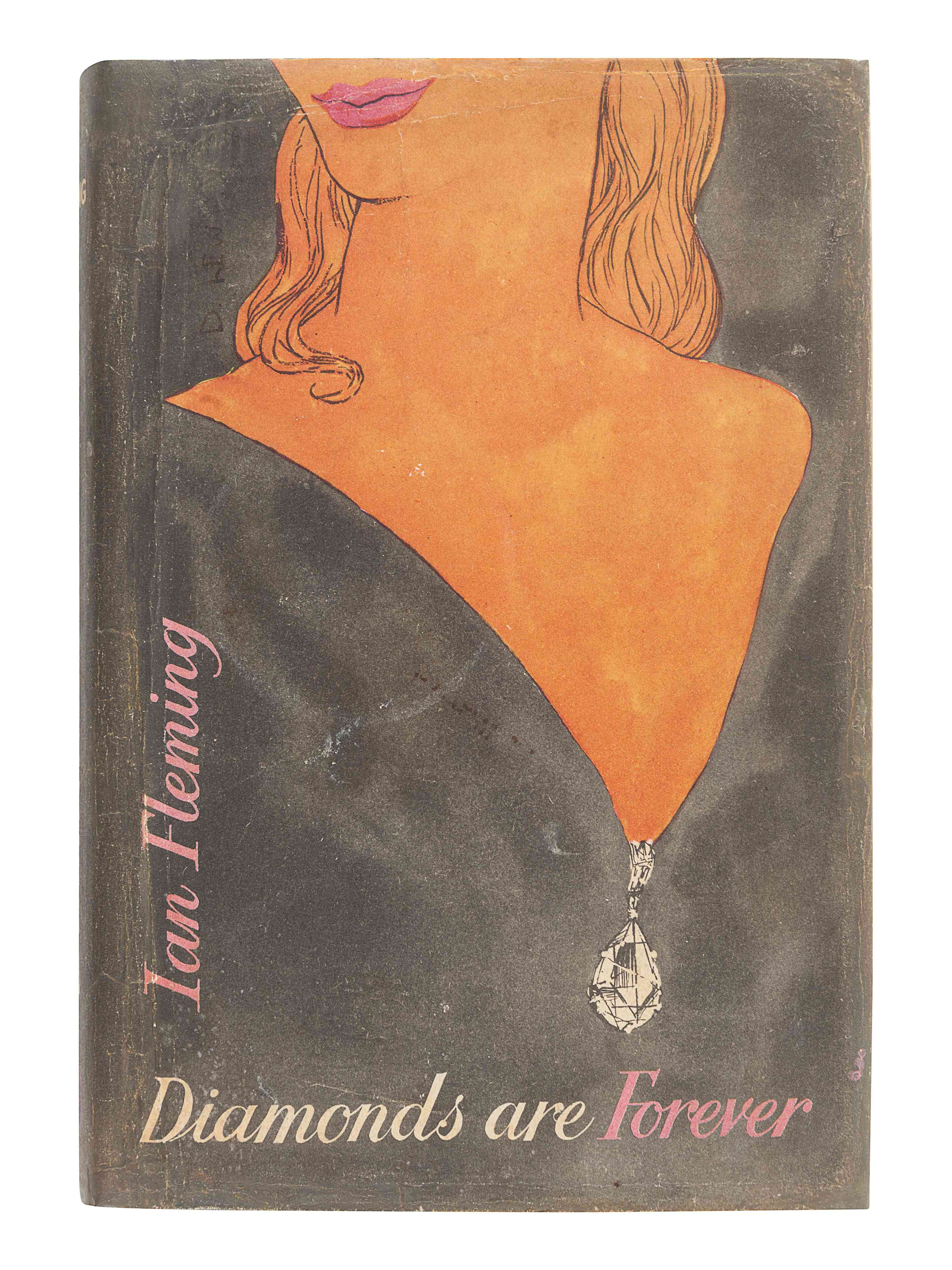 FLEMING, Ian (1908-1964). Diamonds Are Forever. London: Jonathan Cape, 1956.