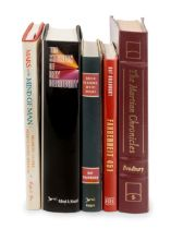 [BRADBURY, Ray (1920-2012)]. A group of 5 works SIGNED OR INSCRIBED by Bradbury, comprising: