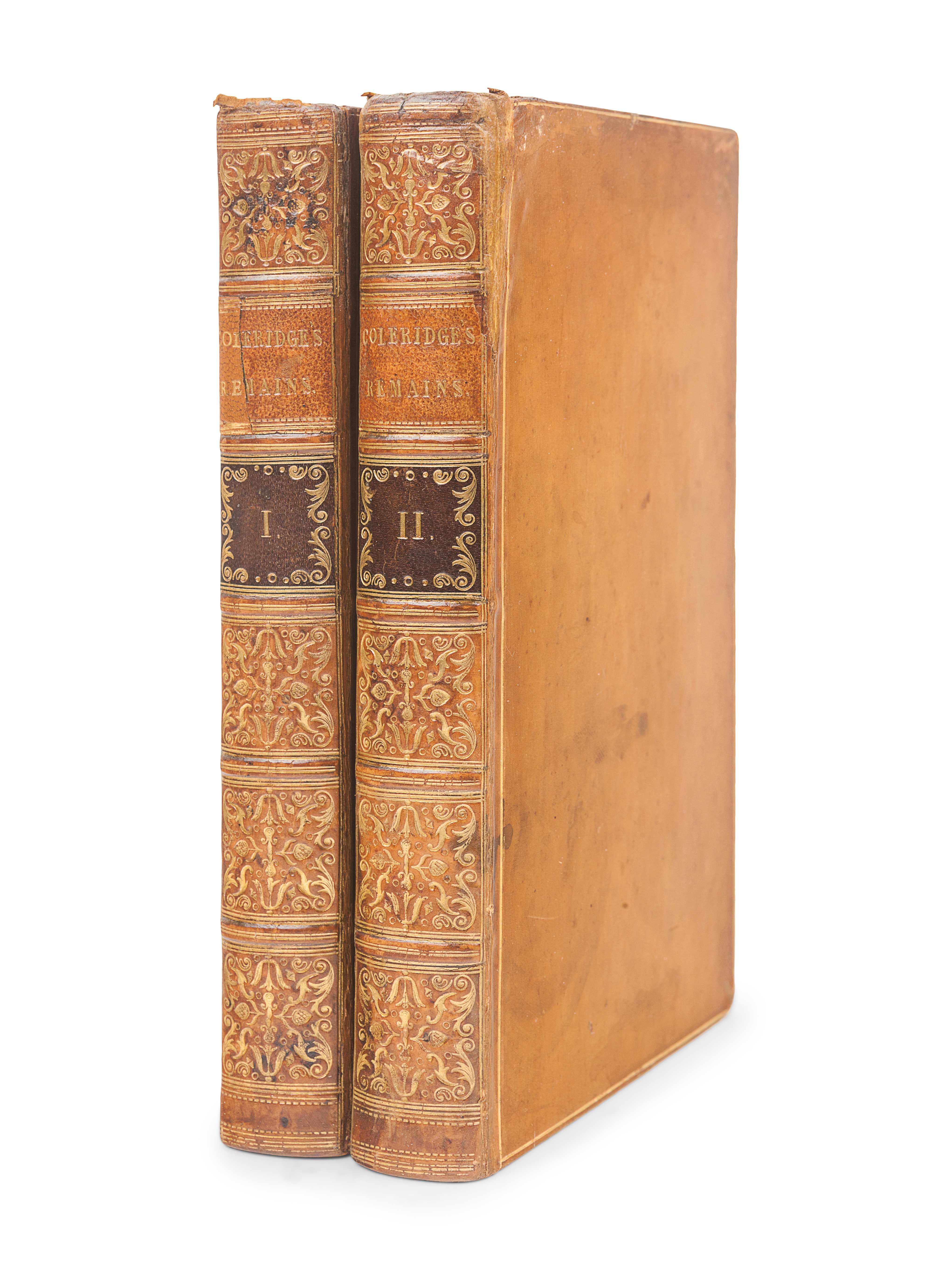 COLERIDGE, Samuel Taylor (1772-1834). Christabel: Kubla Khan, A Vision; The Pains of Sleep. London: - Image 3 of 3