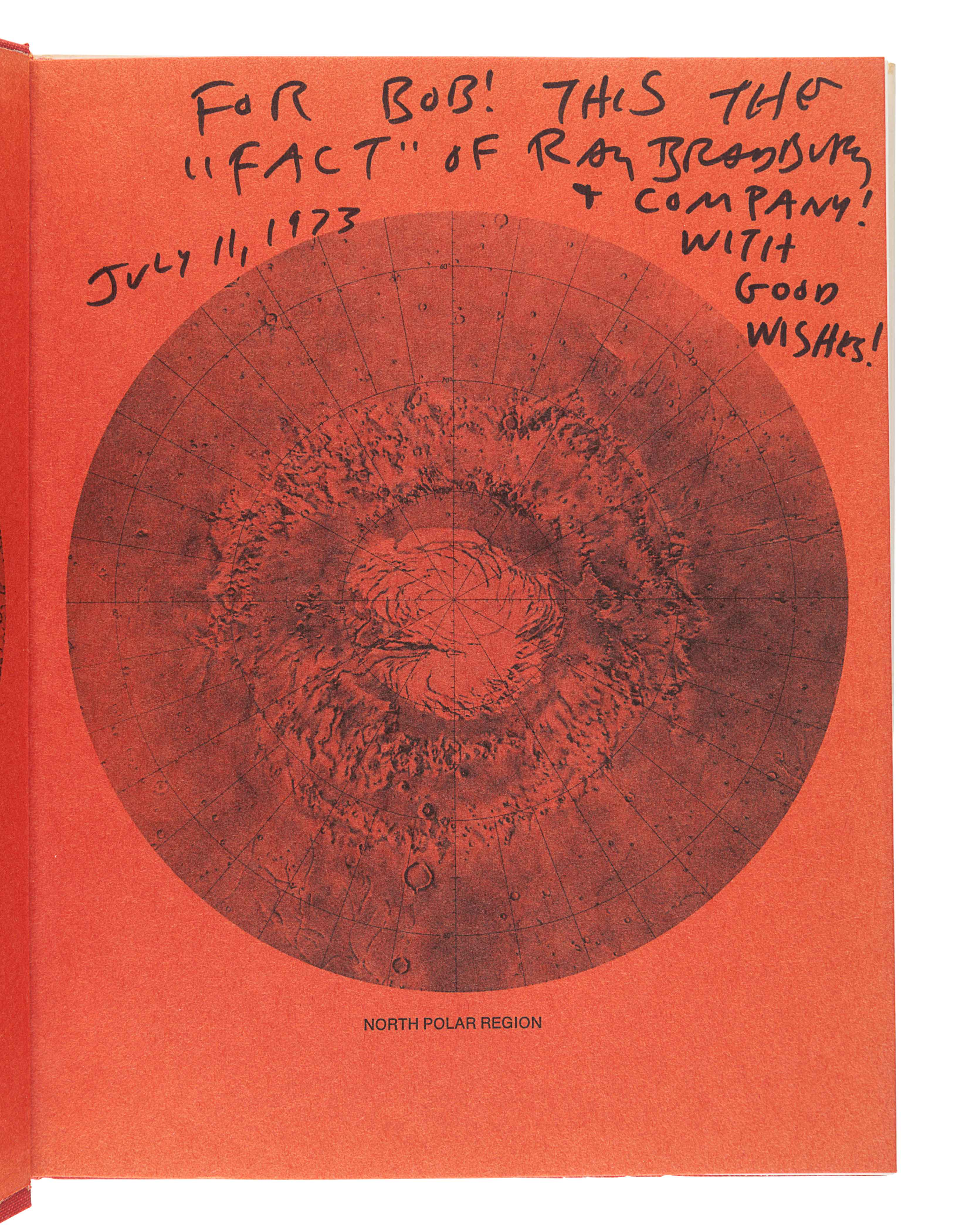 [BRADBURY, Ray (1920-2012)]. A group of 5 works SIGNED OR INSCRIBED by Bradbury, comprising: - Image 2 of 11