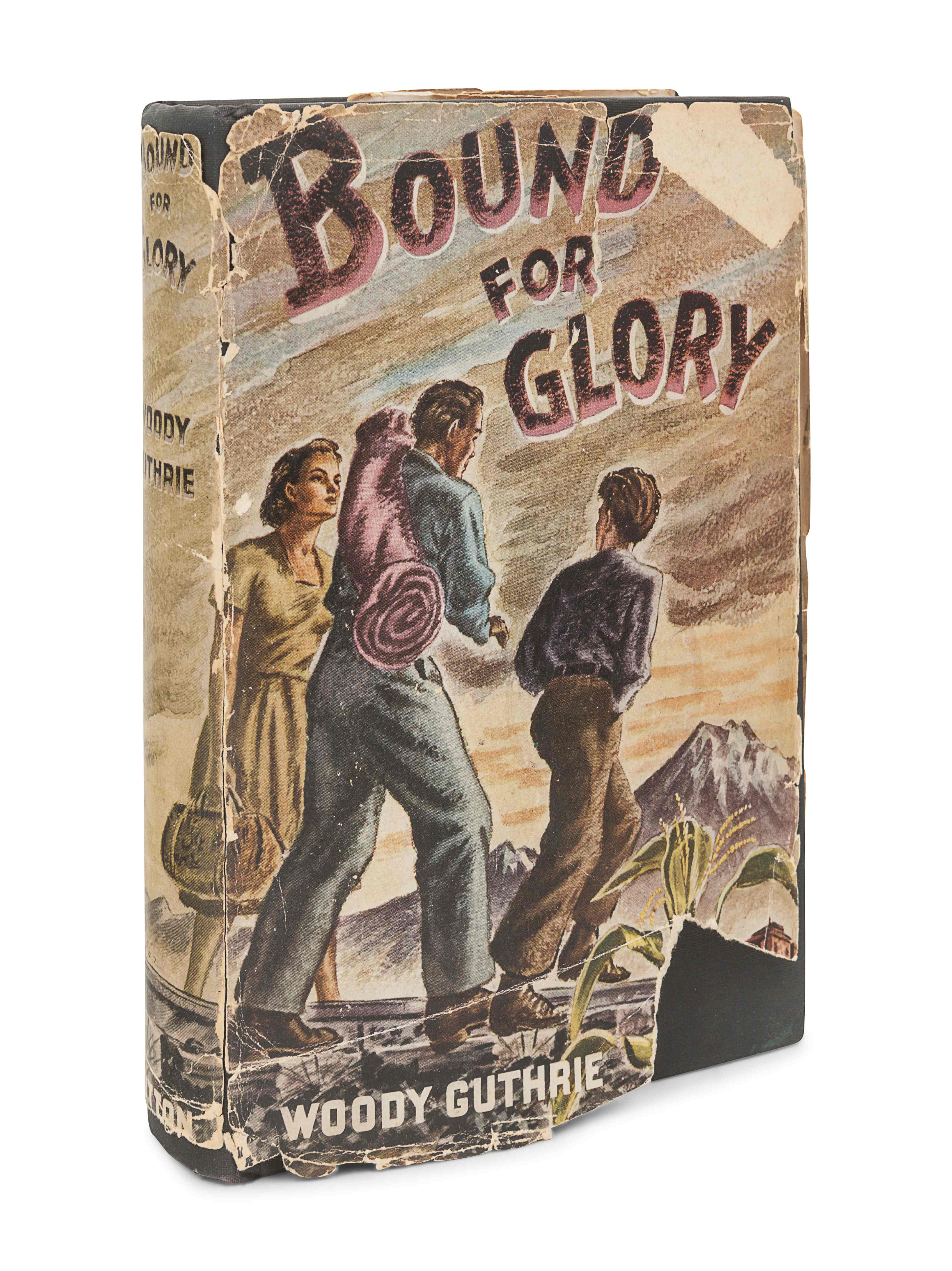 GUTHRIE, Woody (1912-1967). Bound For Glory. New York: E.P. Dutton & Co., 1943. - Image 3 of 3