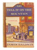 BALDWIN, James (1924-1987). Go Tell It On the Mountain. New York: Alfred A. Knopf, 1953.