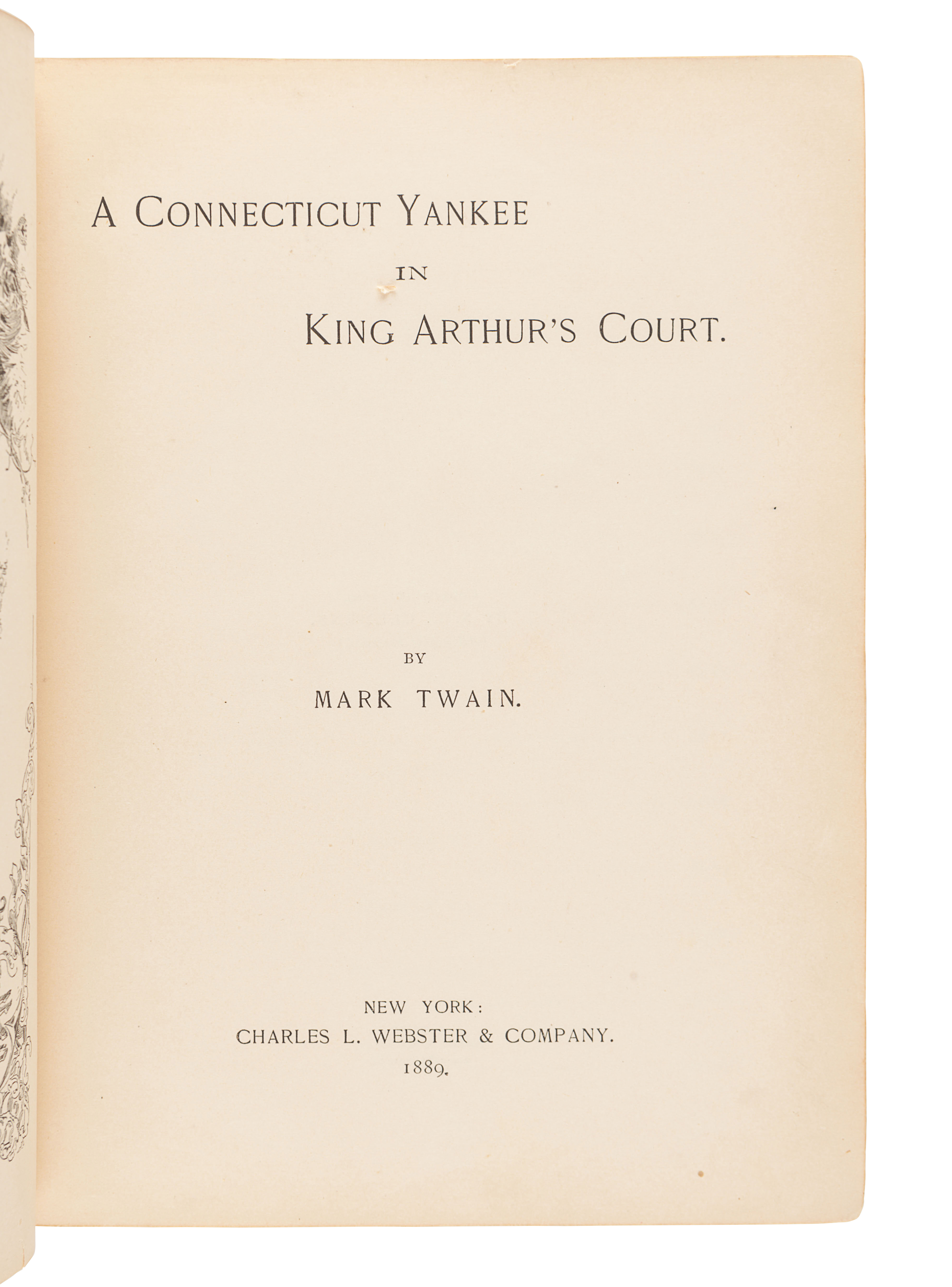 """CLEMENS, Samuel (""""Mark Twain"""") (1835-1910). Mark Twain's Sketches, New and Old. Hartford and Chicago - Image 4 of 4"""