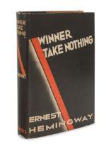 HEMINGWAY, Ernest (1899-1961).Winner Take Nothing. New York: Charles Scribner's Sons, 1933.