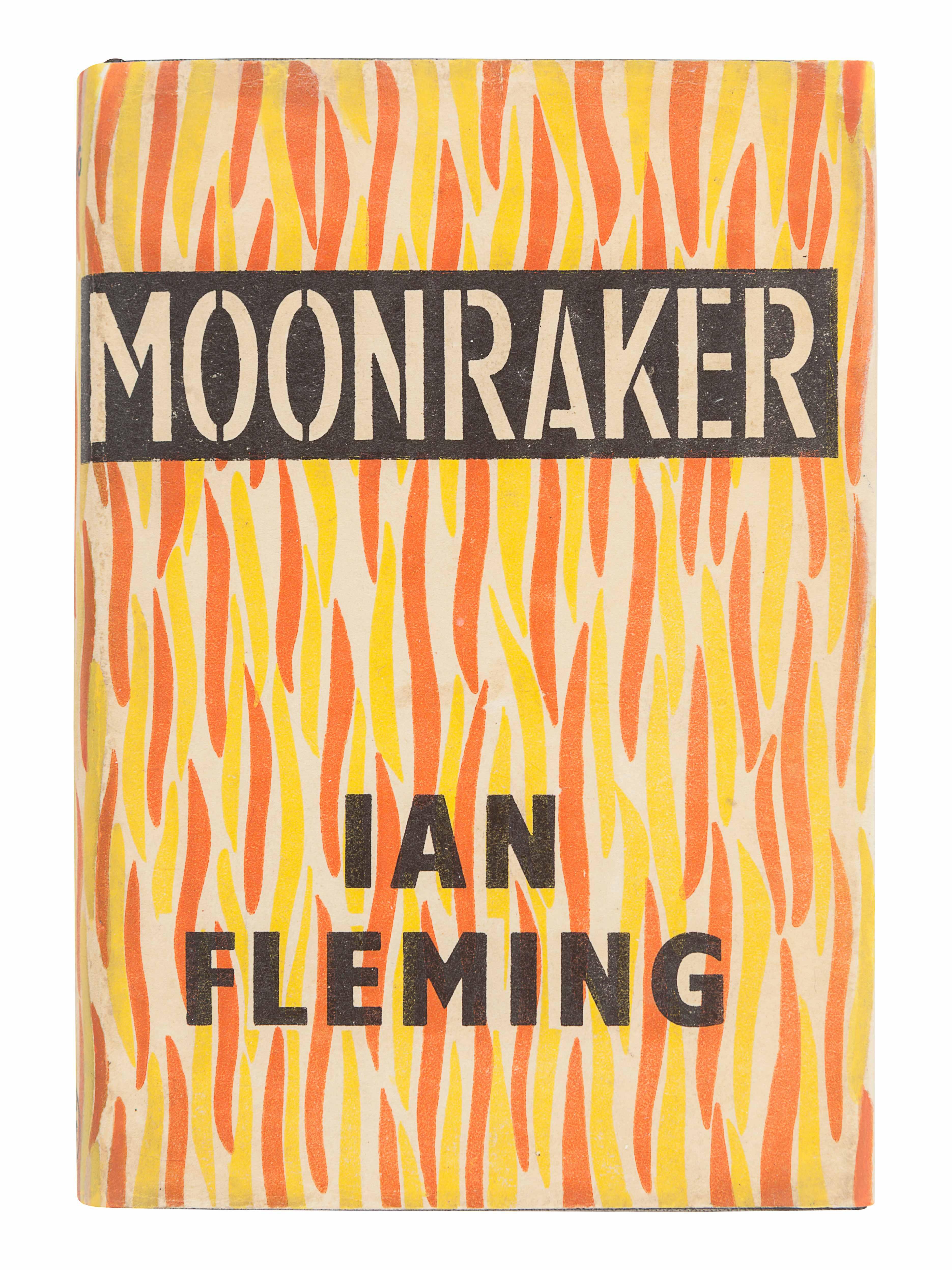 FLEMING, Ian (1908-1964). Moonraker. London: Jonathan Cape, 1955. - Image 3 of 3